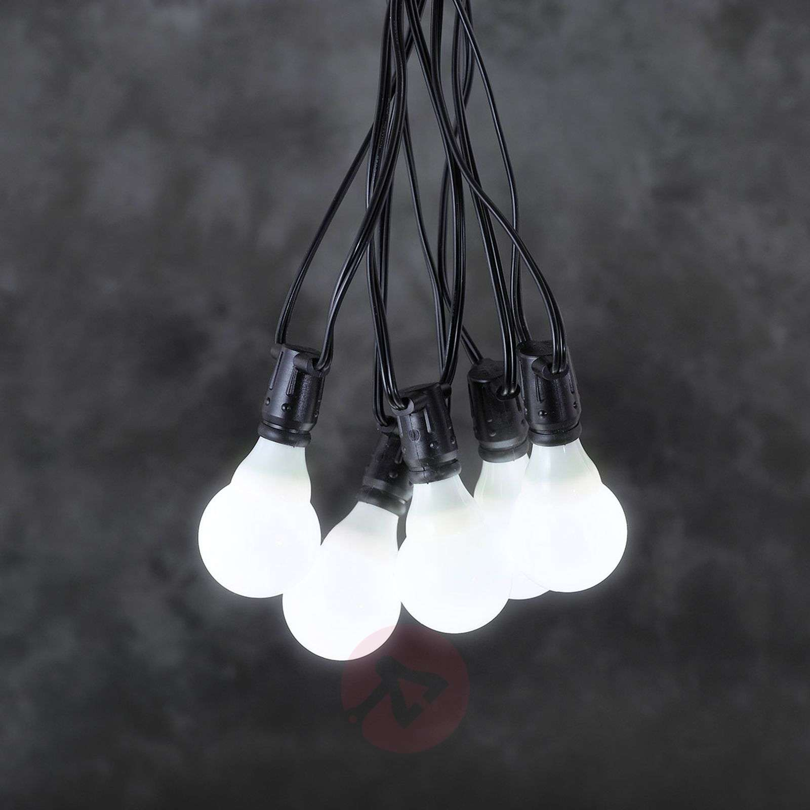 24V-systeem lichtketting voor tuincafé LED E10-5524406X-01