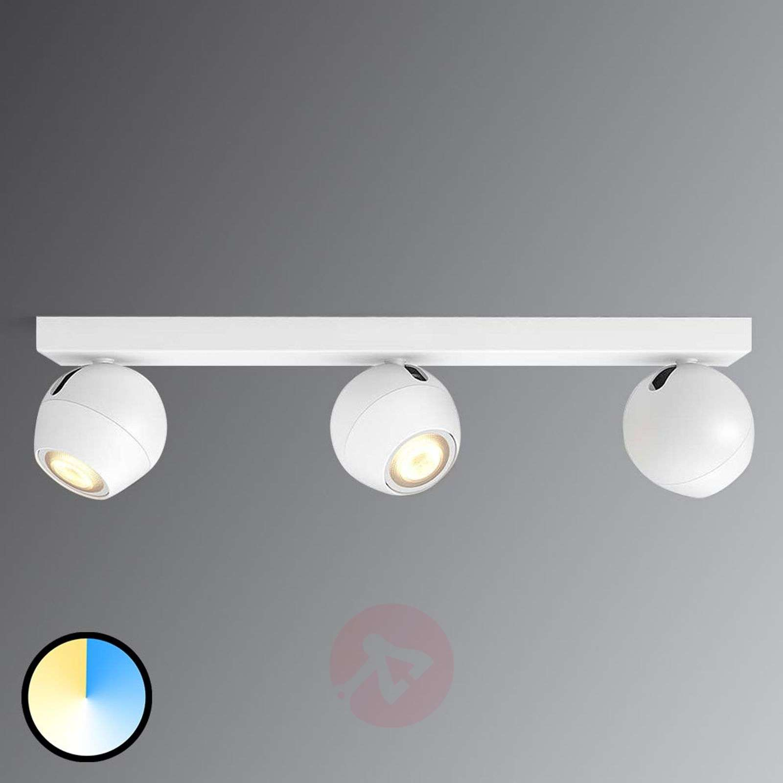 Groovy Buckram -.Philips Hue LED spot wit met 3 lampen | Lampen24.nl UP34