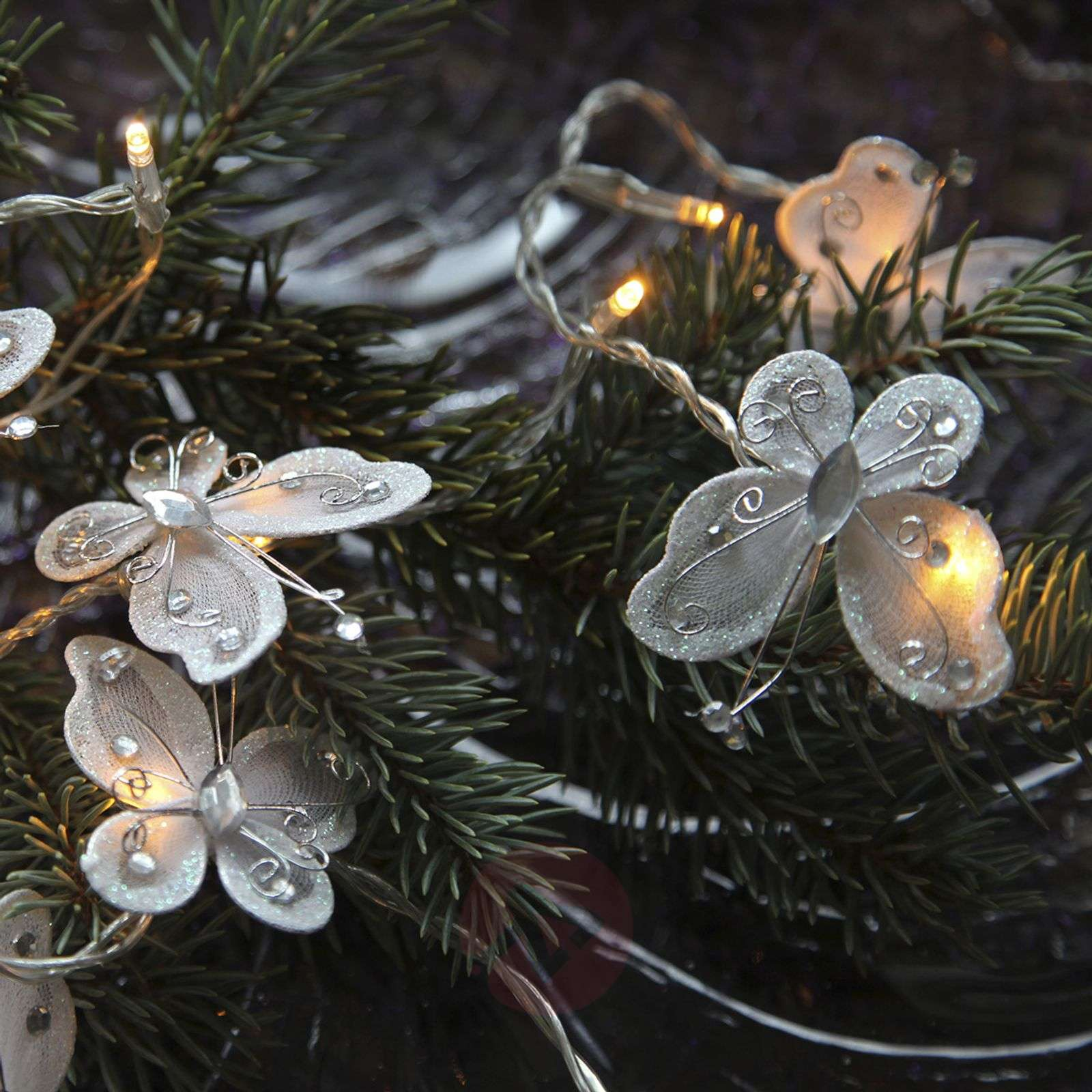 Butterfly Garland LED-lichtketting, wit-1522669-02