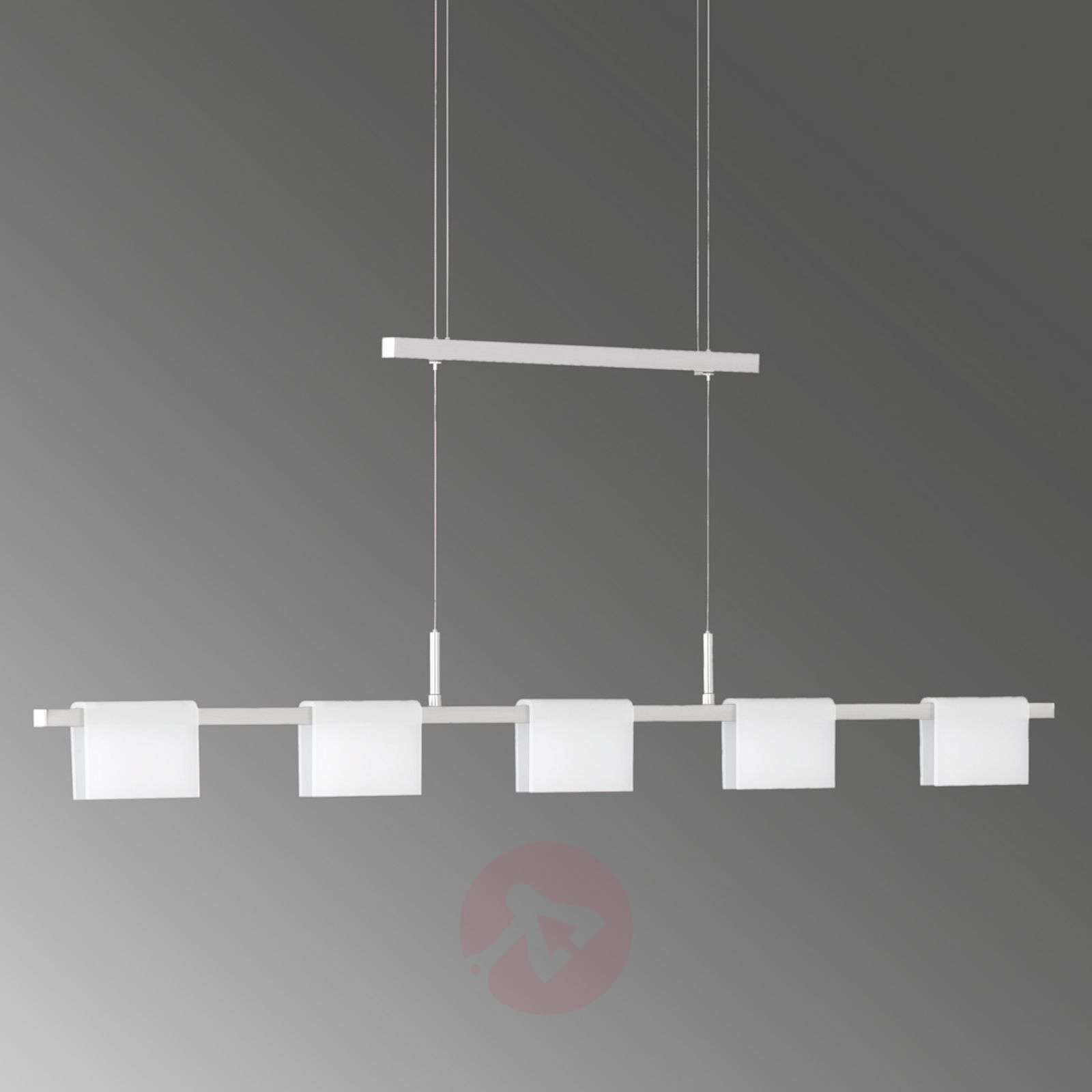 Dimbare LED-hanglamp Lienzo in hoogte verstelb.-4581052-01