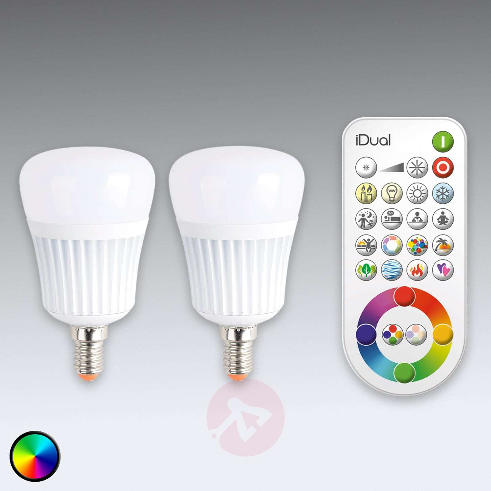 idual e14 led lamp 2 pack zonder afstandsbediening 9038022 01