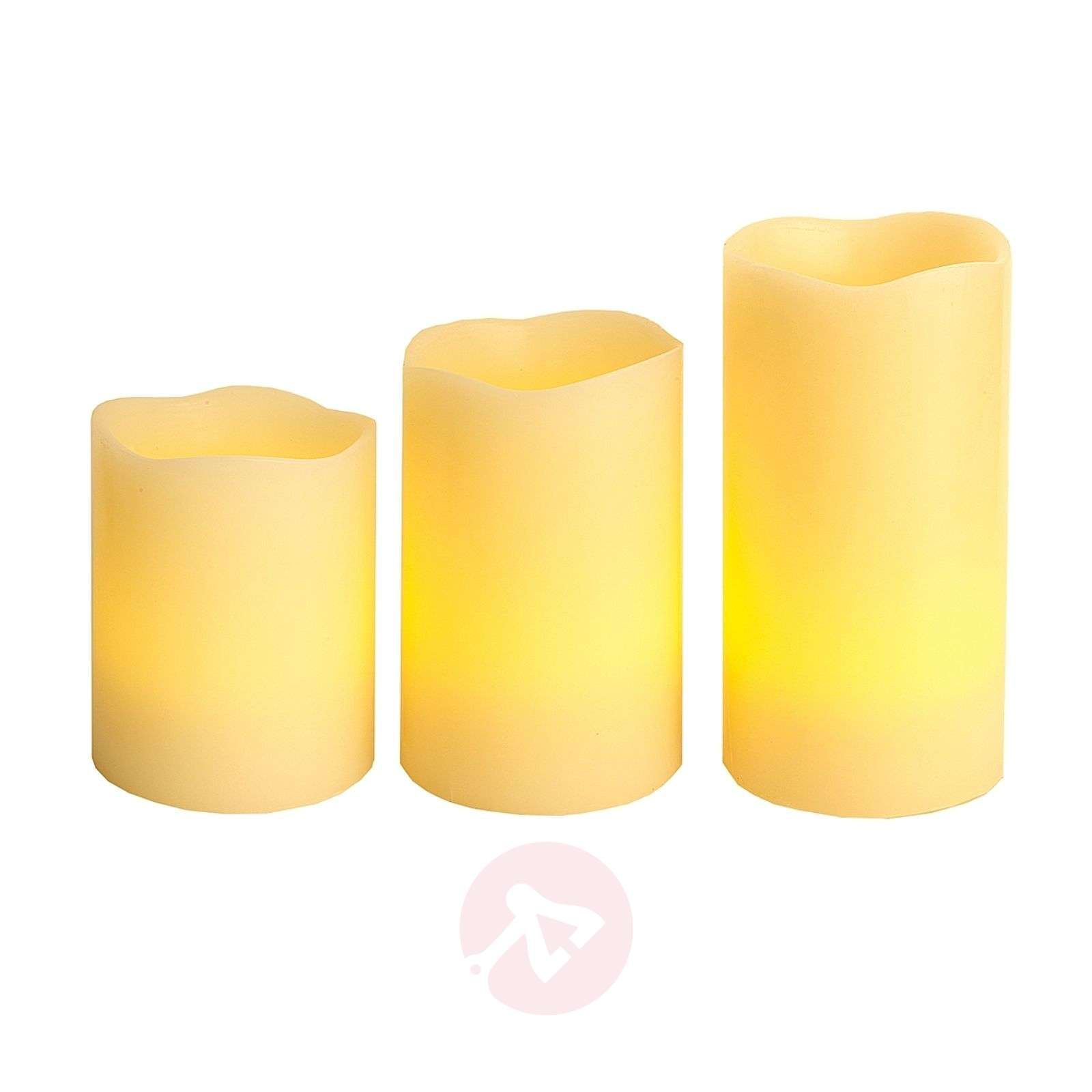 LED Candle Wax RGB kleurverandering and afstandsbed.-1522390-01