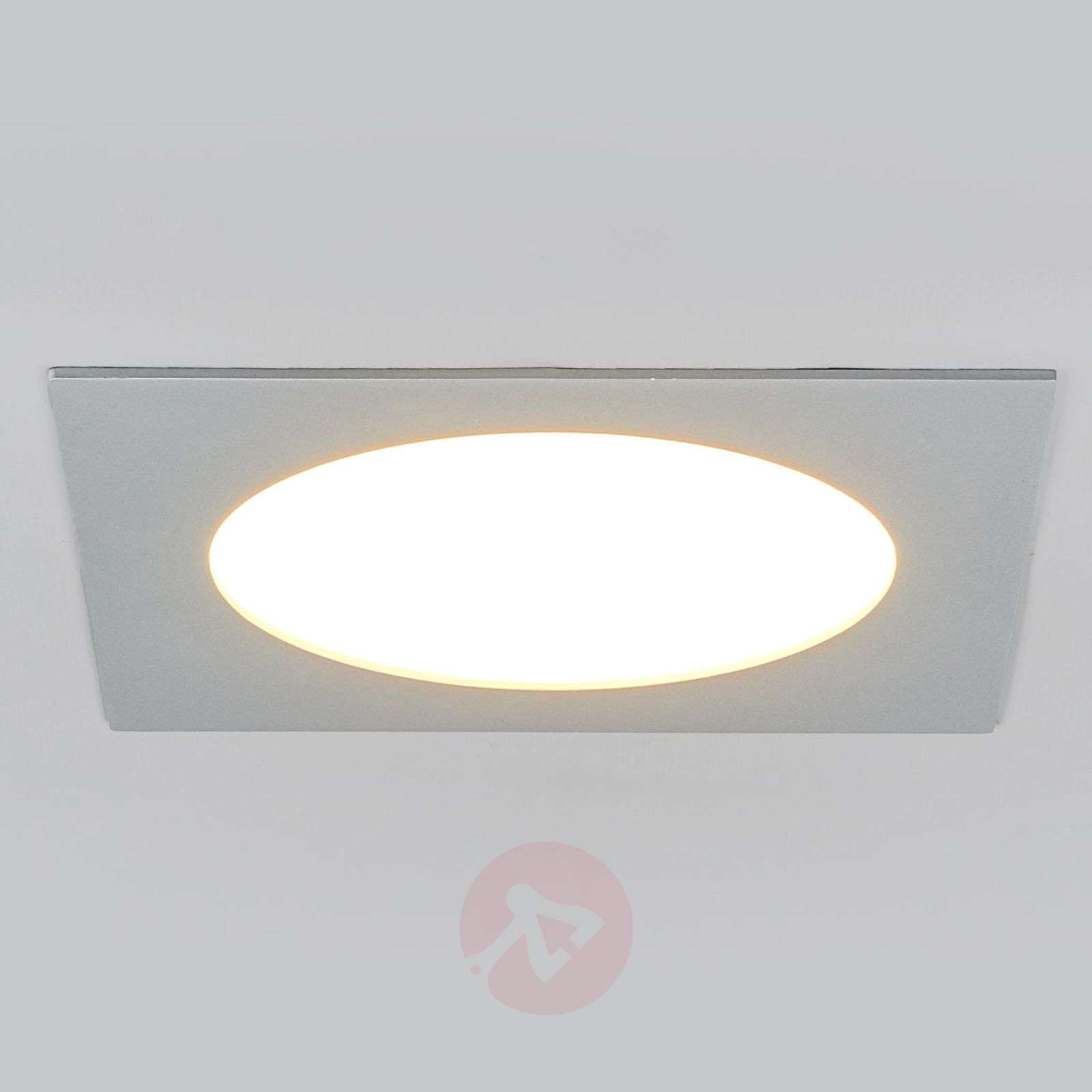 Led-inbouwlamp PRINCE, vierkant 11W-3012182X-01