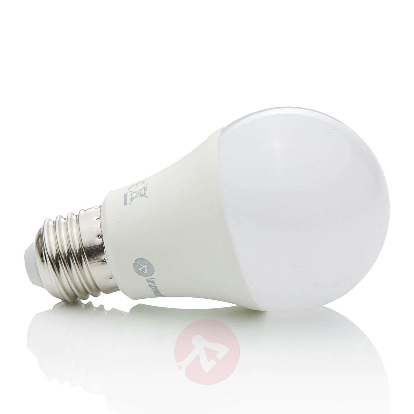 Led lamp rgbw e27 7w 500 lumen for Lampen 500 lux