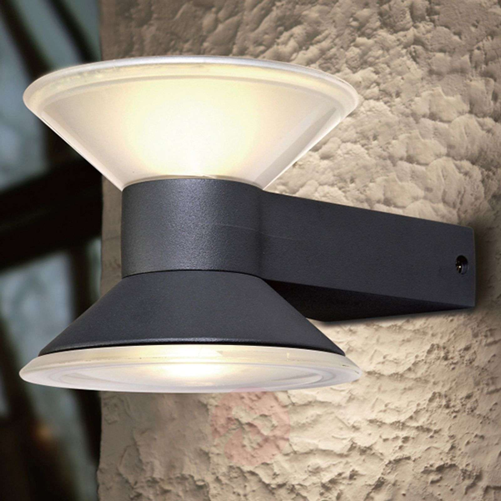 LED outdoor wandlamp Cone up and down-3006187-01