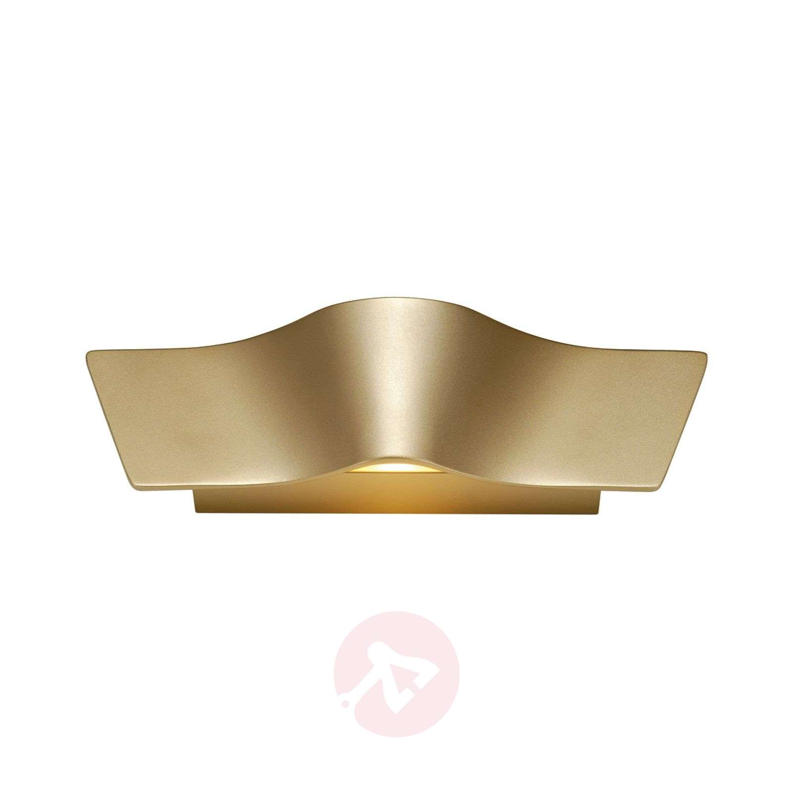LED wandlamp Wave in mooie messing-5504604-01