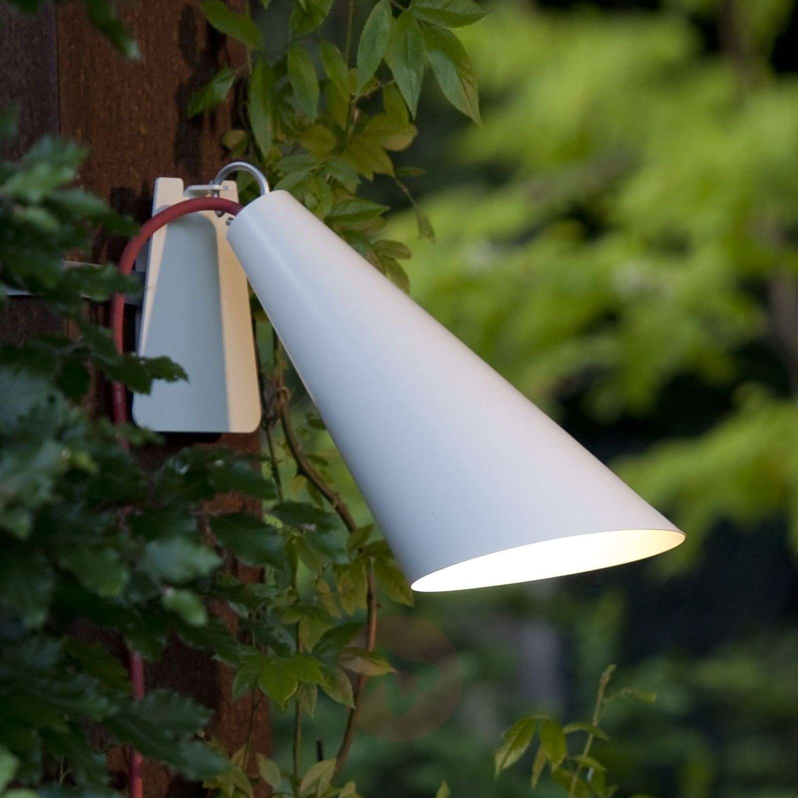 Originele buitenlamp Pit Out met band, wit-2600480-01