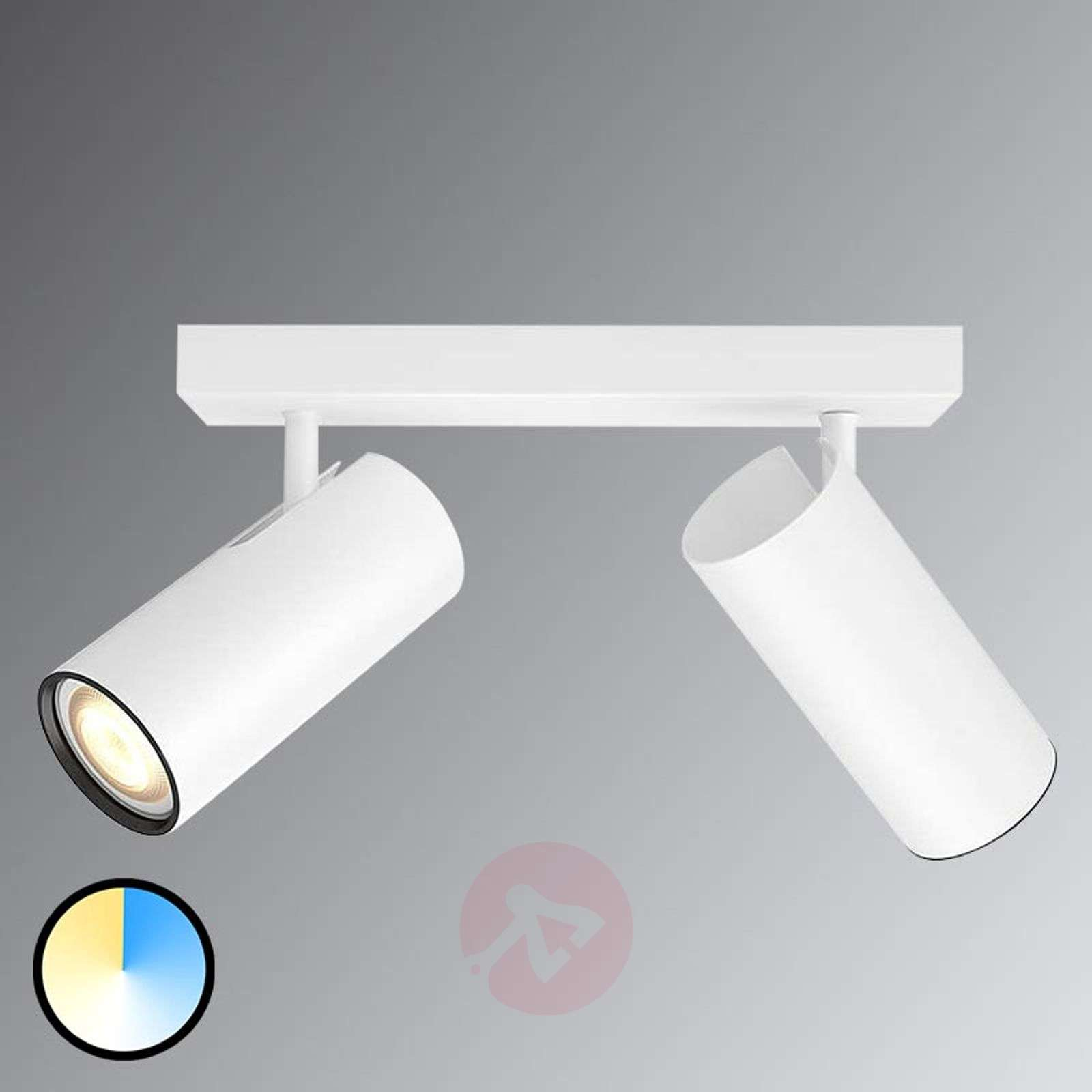 Af modish Philips Hue Buratto - LED spot White Ambiance | Lampen24.nl QI09