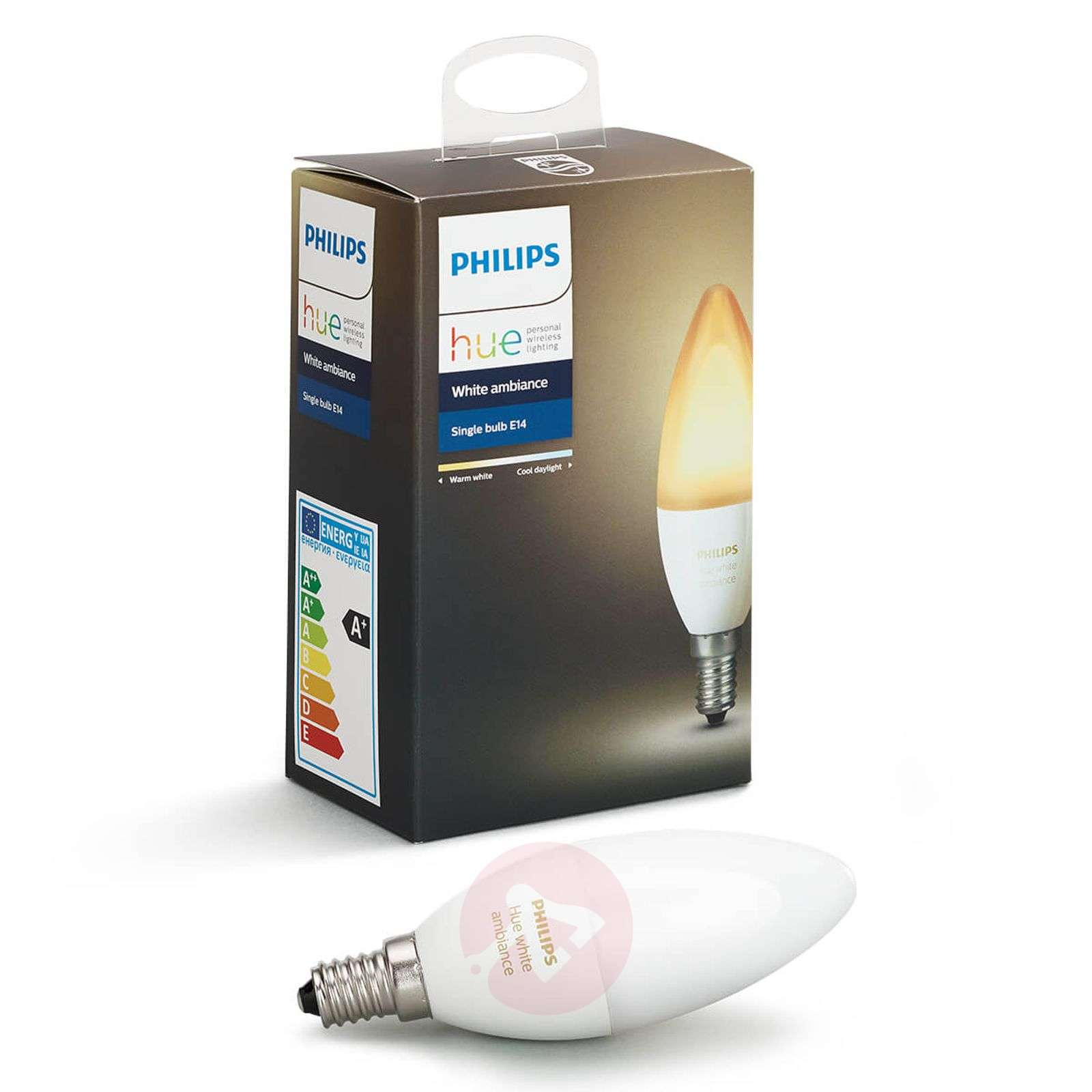 philips hue kaarslamp white ambiance e14 6w. Black Bedroom Furniture Sets. Home Design Ideas