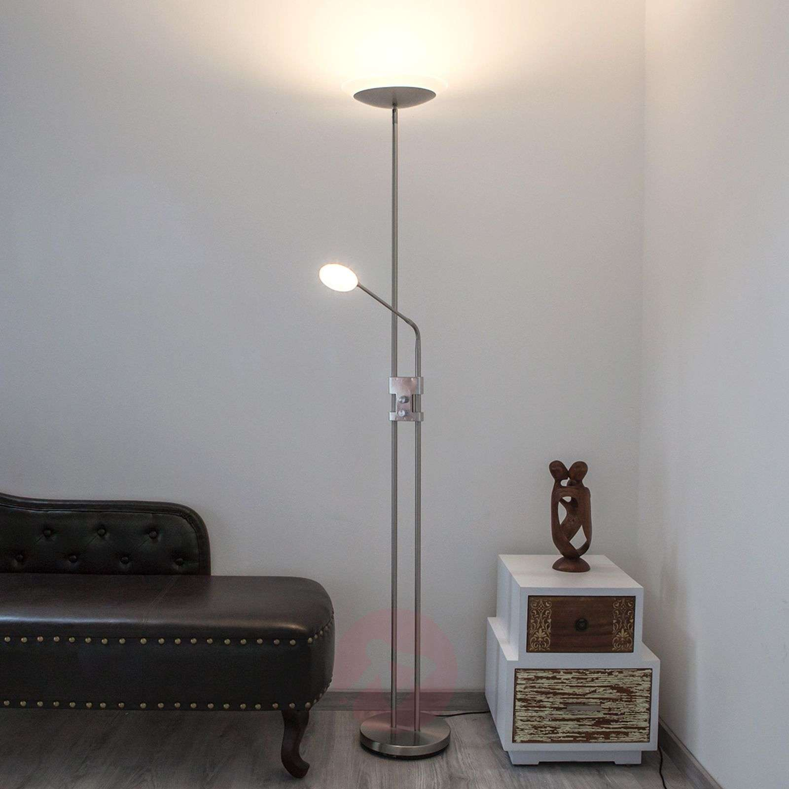 talia moderne led plafondstraler m leeslamp. Black Bedroom Furniture Sets. Home Design Ideas