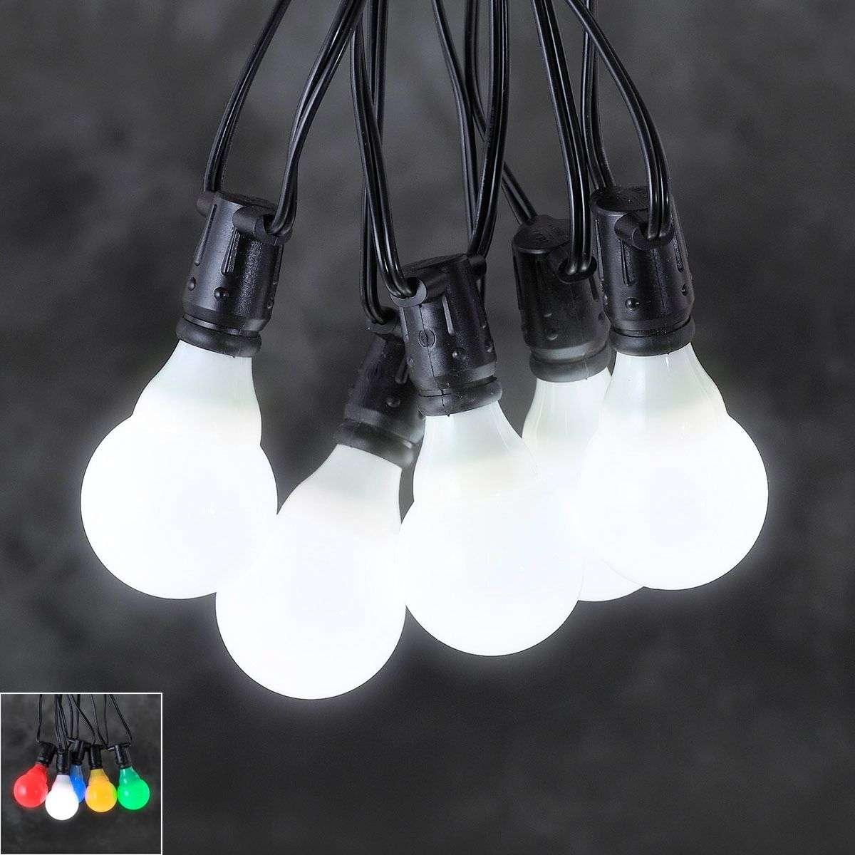 24V-systeem lichtketting voor tuincafé LED E10-5524406X-31