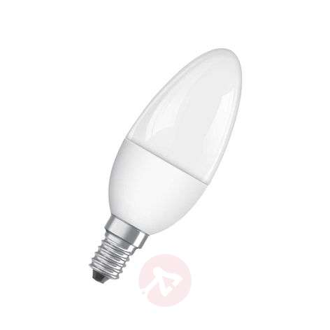 E14 5,5W 827 LED-kaarslamp Superstar, mat, dimbaar