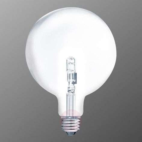 E27 46W halogeen bollamp G125, warm wit, transp.