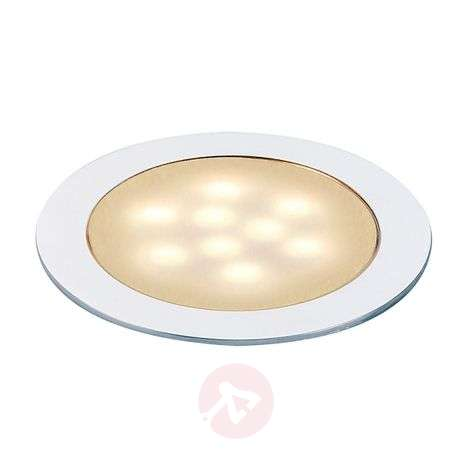 Effectvolle inbouwspot LED SLIM LIGHT, warm wit