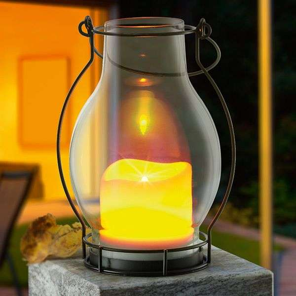 Deko Dream - effectvolle LED-solarlamp IP44