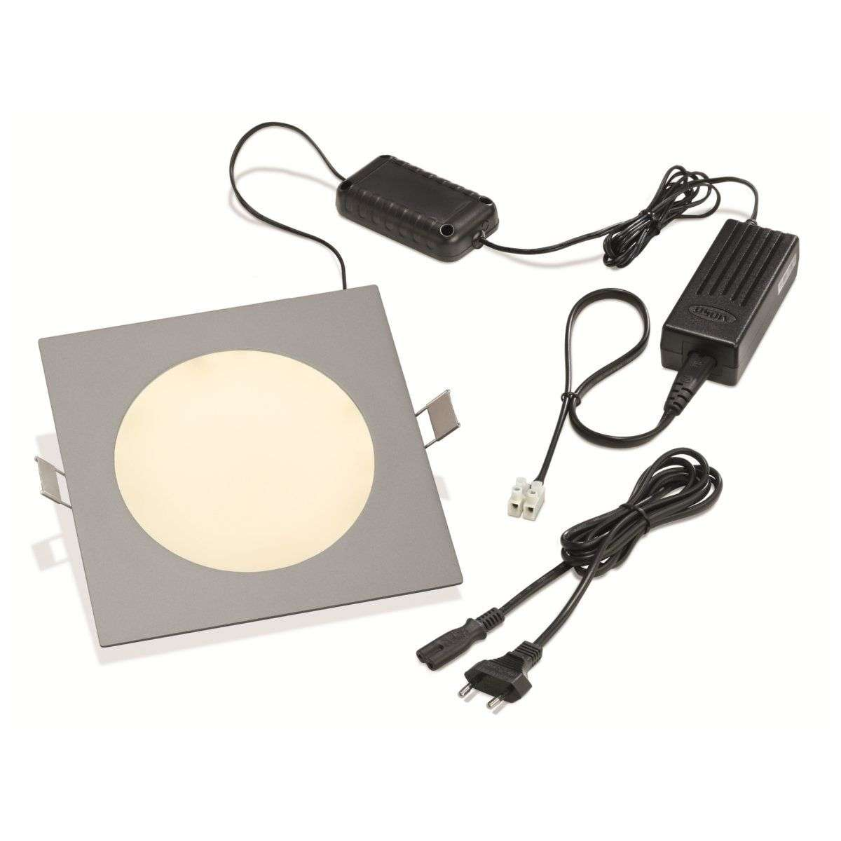Led-inbouwlamp PRINCE, vierkant 11W-3012182X-31