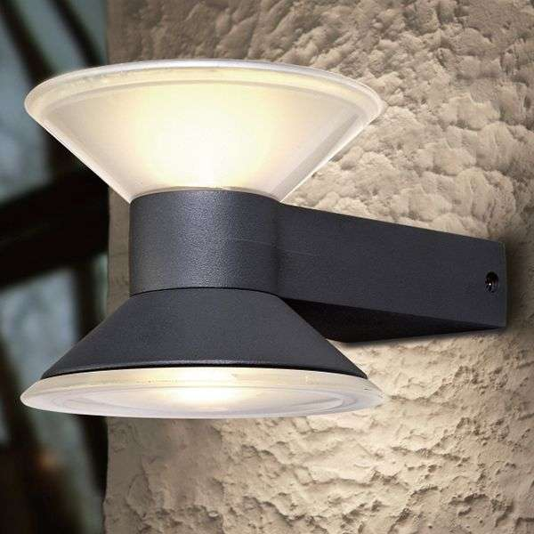 LED outdoor wandlamp Cone up and down-3006187-31