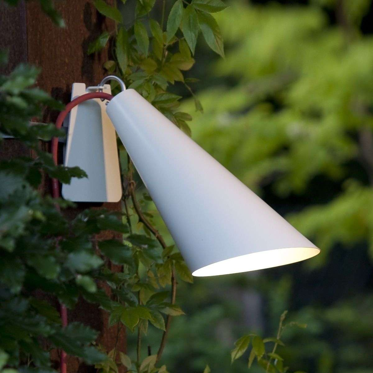 Originele buitenlamp Pit Out met band, wit-2600480-31
