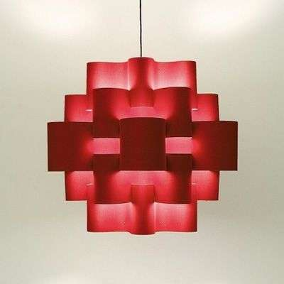 Red Sun imposante hanglamp in warm rood-5501087-31