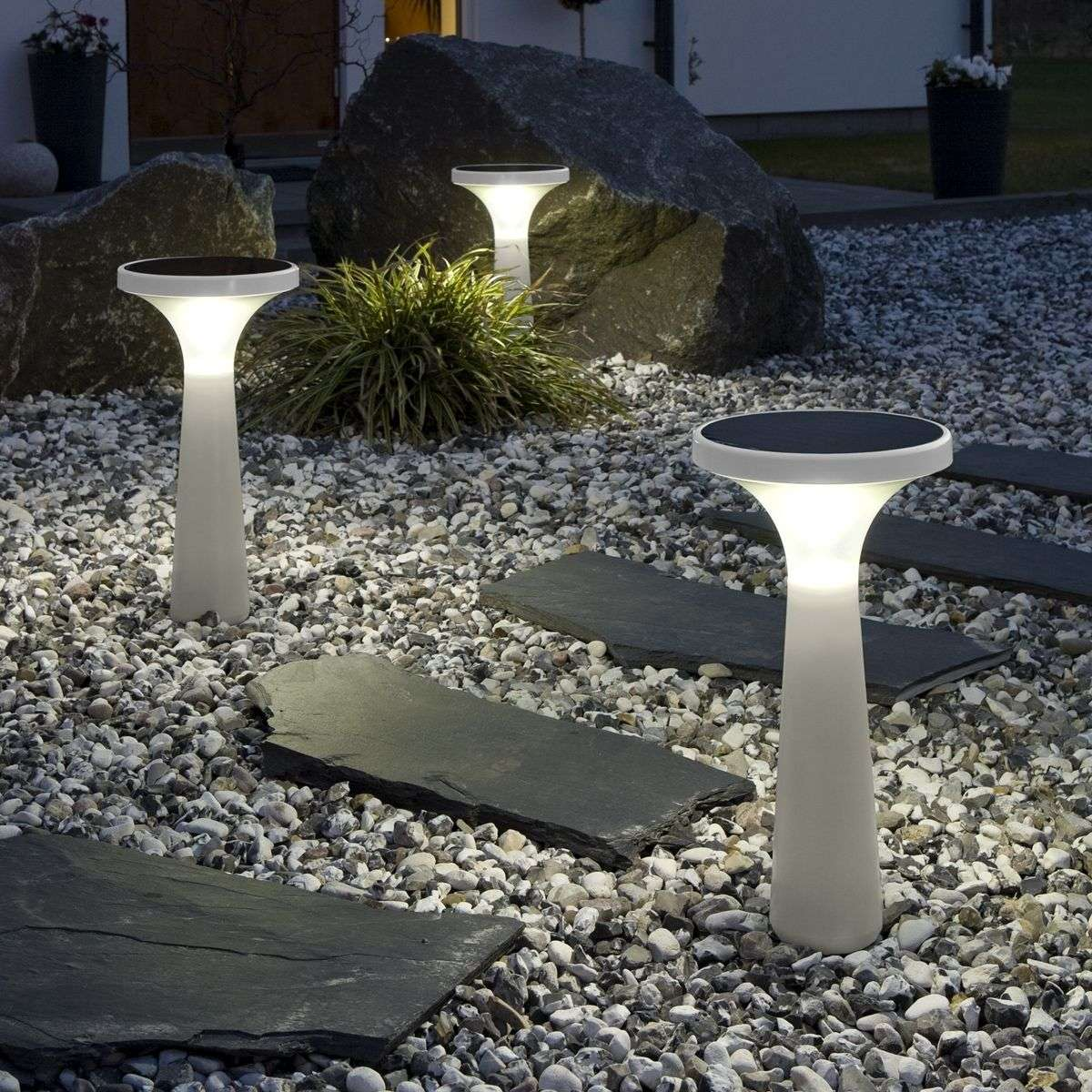 Solar-verlichting New Assisi Aton 450, wit | Lampen24.nl