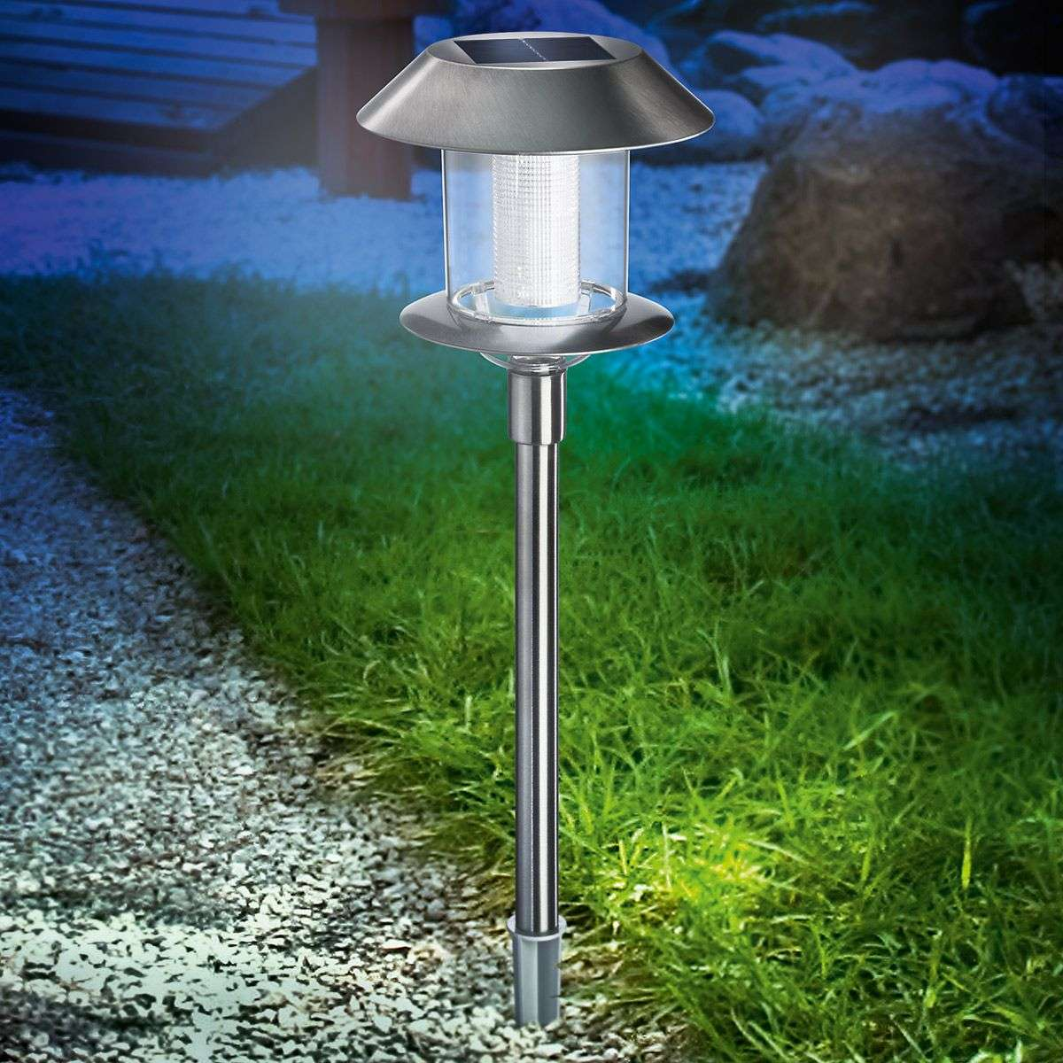 Swing duo solar lamp op zonne energie for Solar lampen