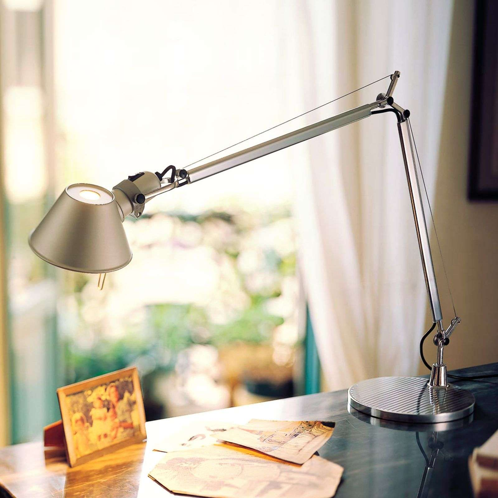 LED bureaulamp Tolomeo met dimmer