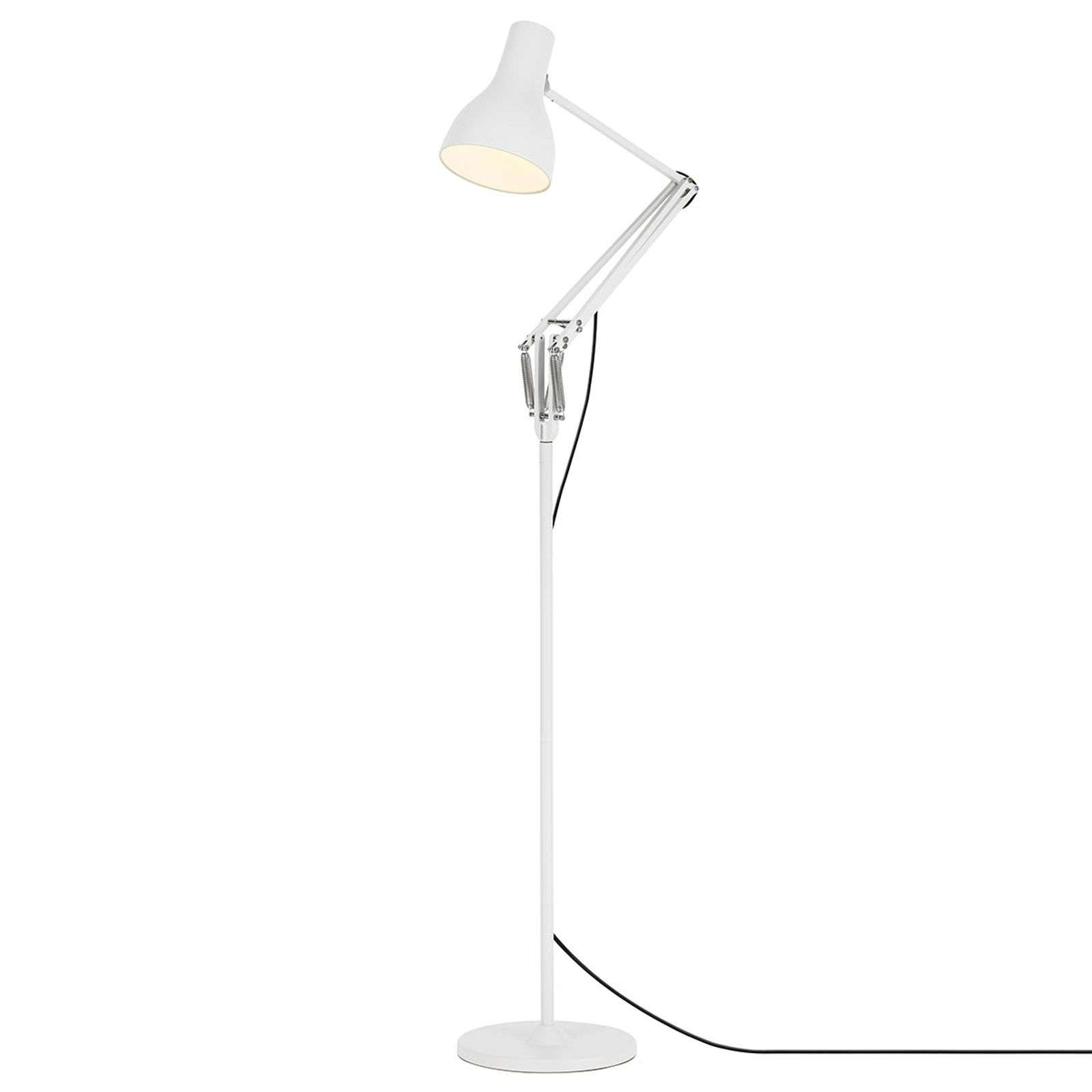 Anglepoise Type 75 vloerlamp alpenwit