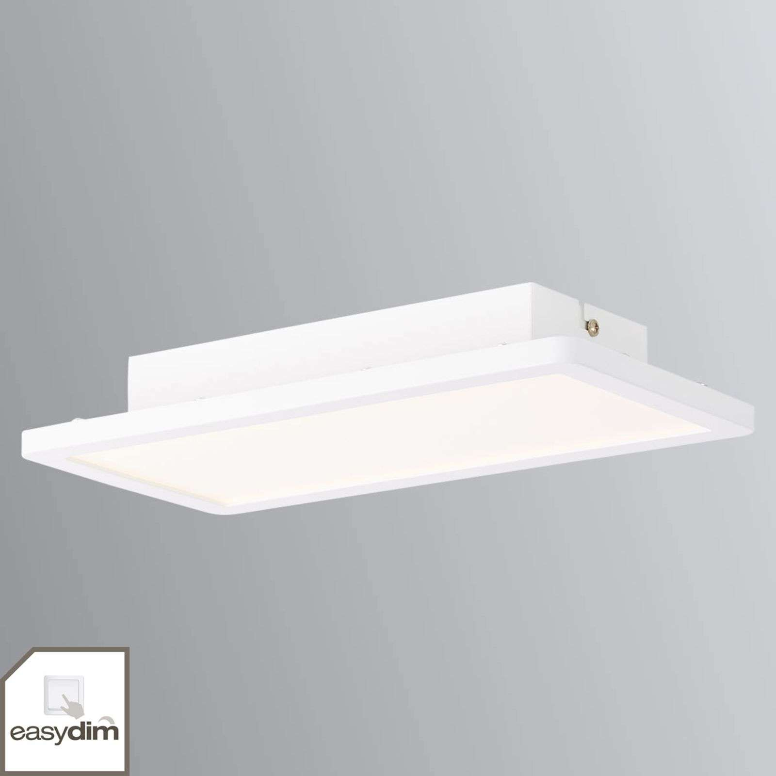 Dimbare LED plafondlamp Scope in wit