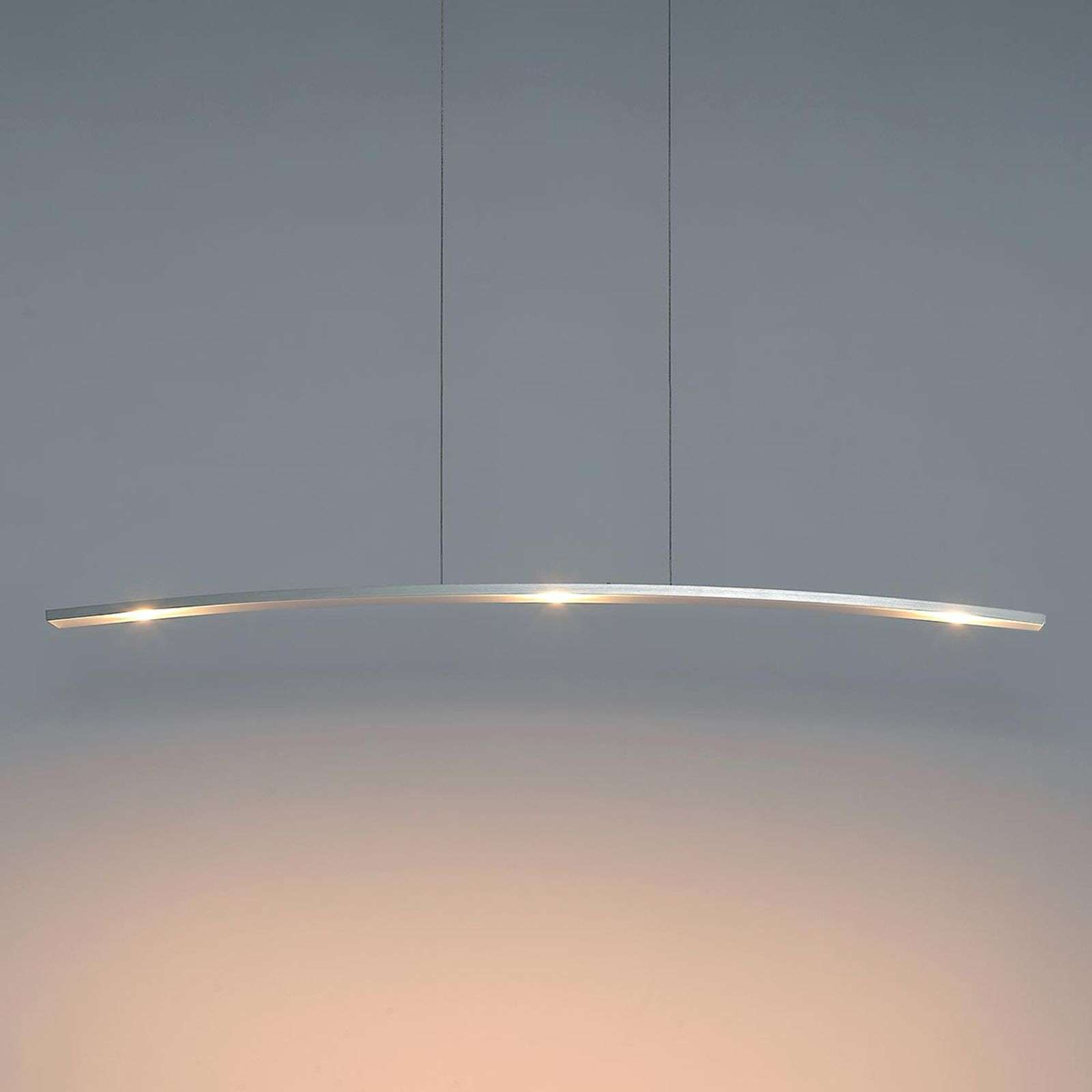 Moderne LED hanglamp Change, 3-lamps