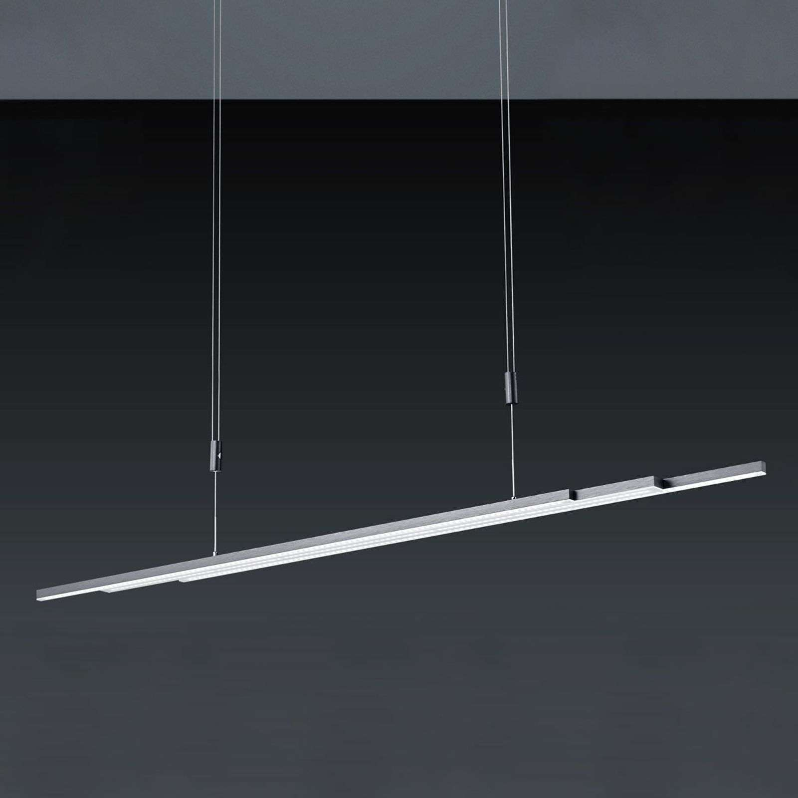 BANKAMP L-lightLINE LED-hanglamp, antraciet
