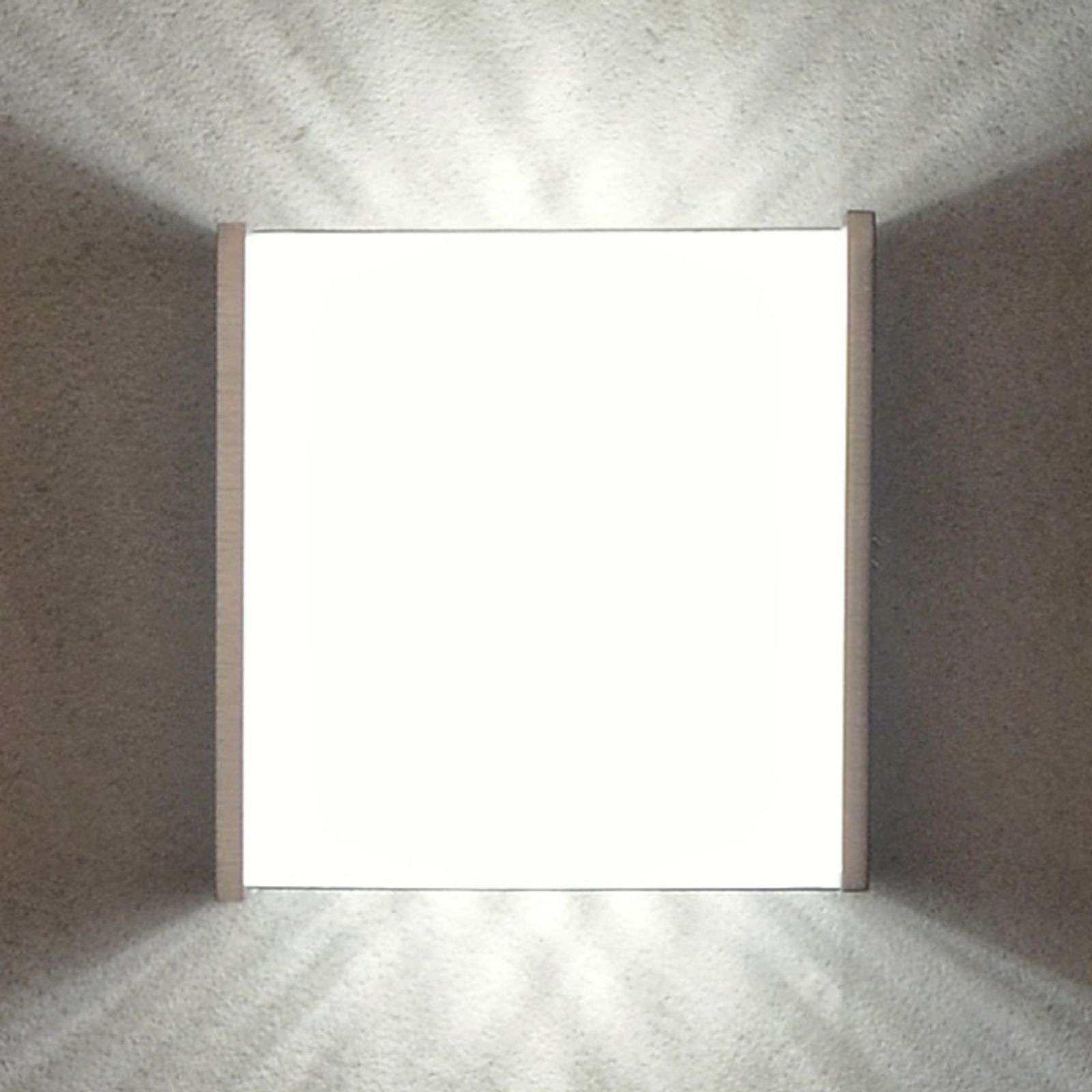 Effectvolle LED wandlamp Box