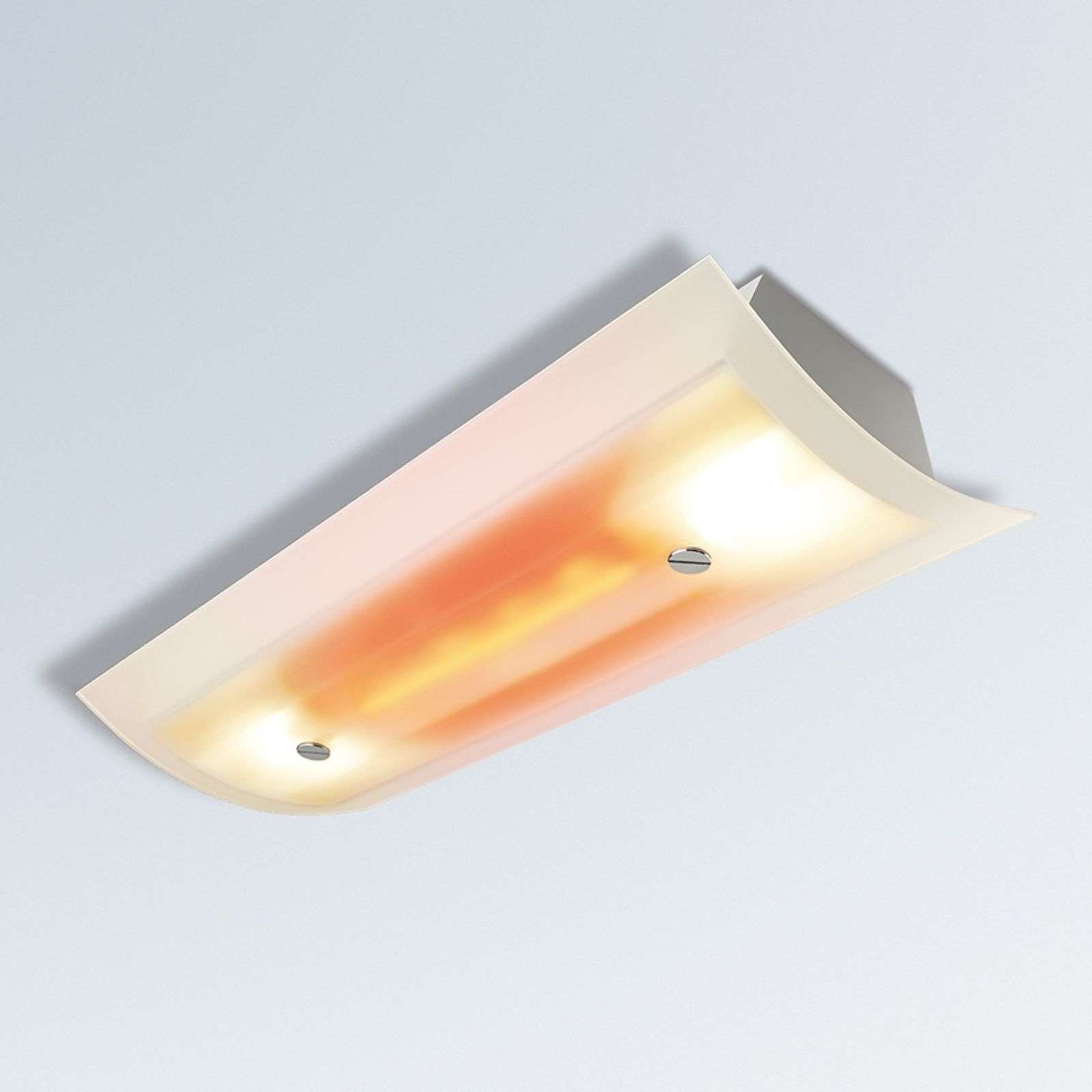 Warme halogeenplafondlamp SUNSITIVE design