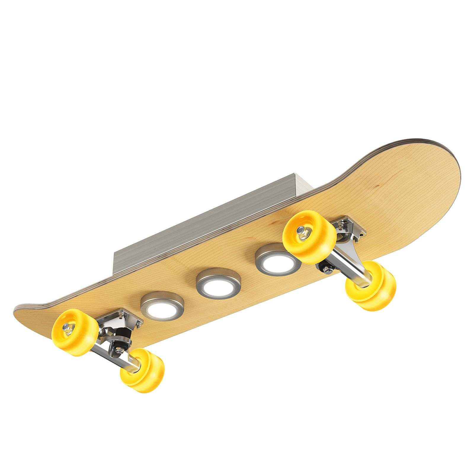 LED-plafondlamp Light Cruiser skateboard design