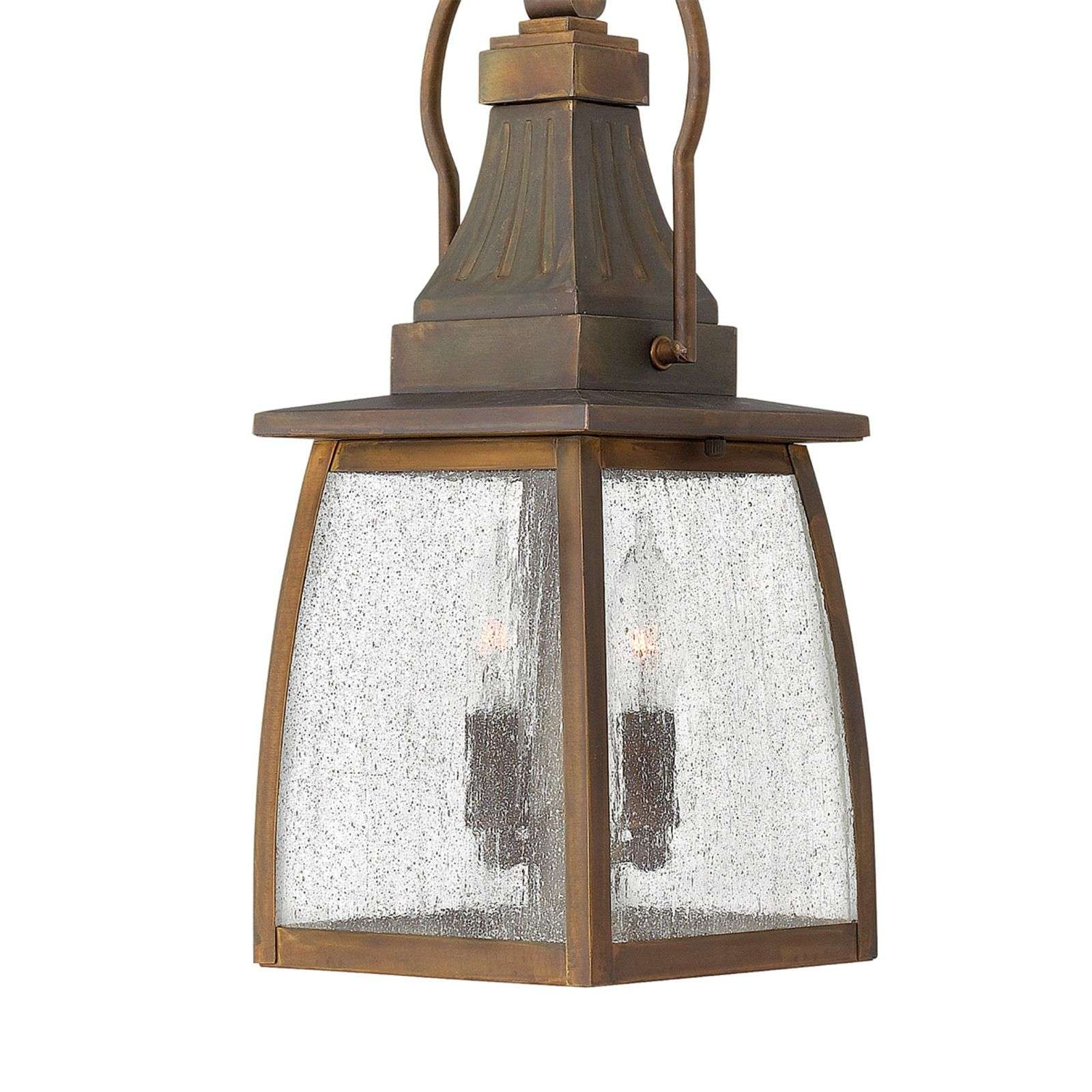 Solide messing hanglamp MONTAUK