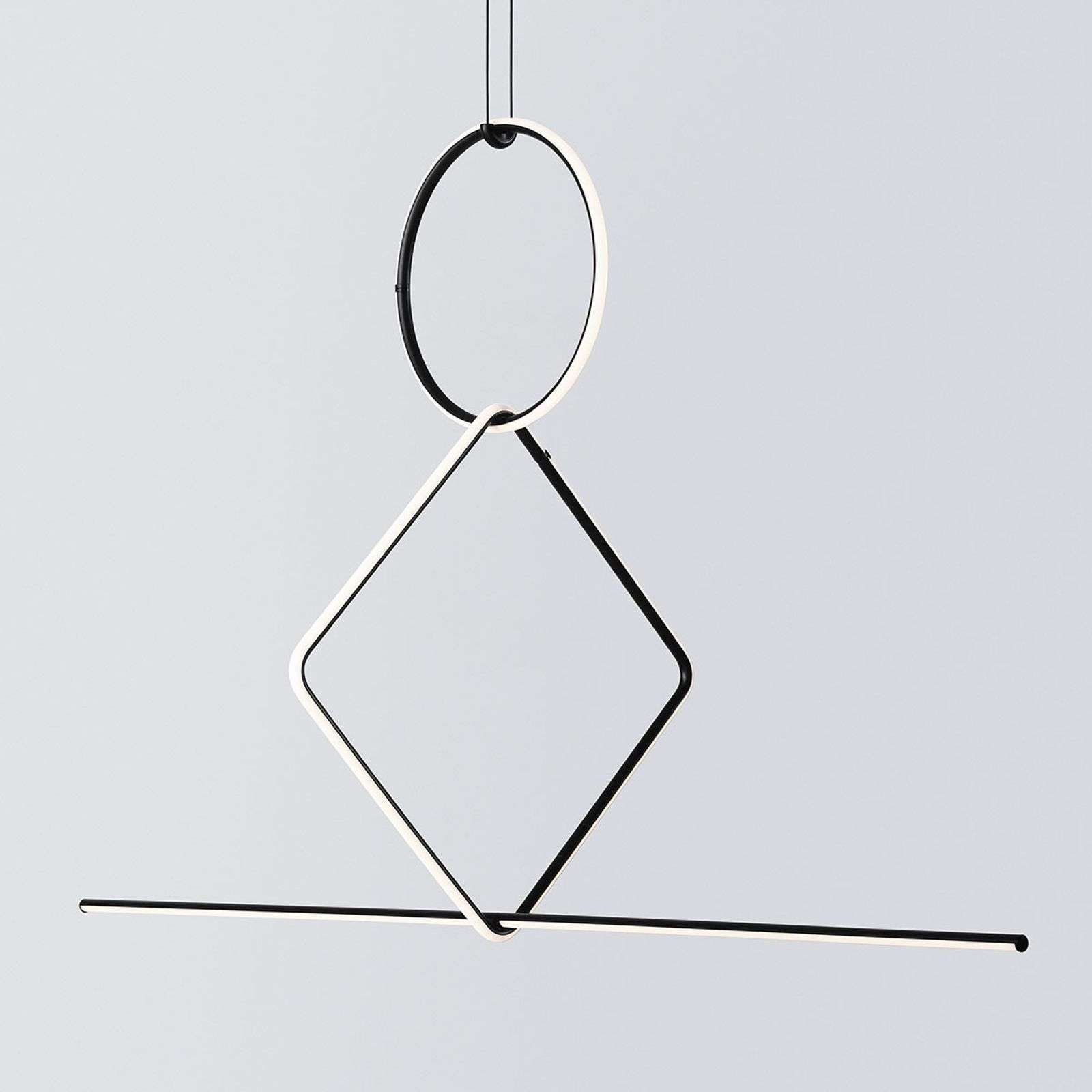 FLOS Arrangements 3 LED hanglamp