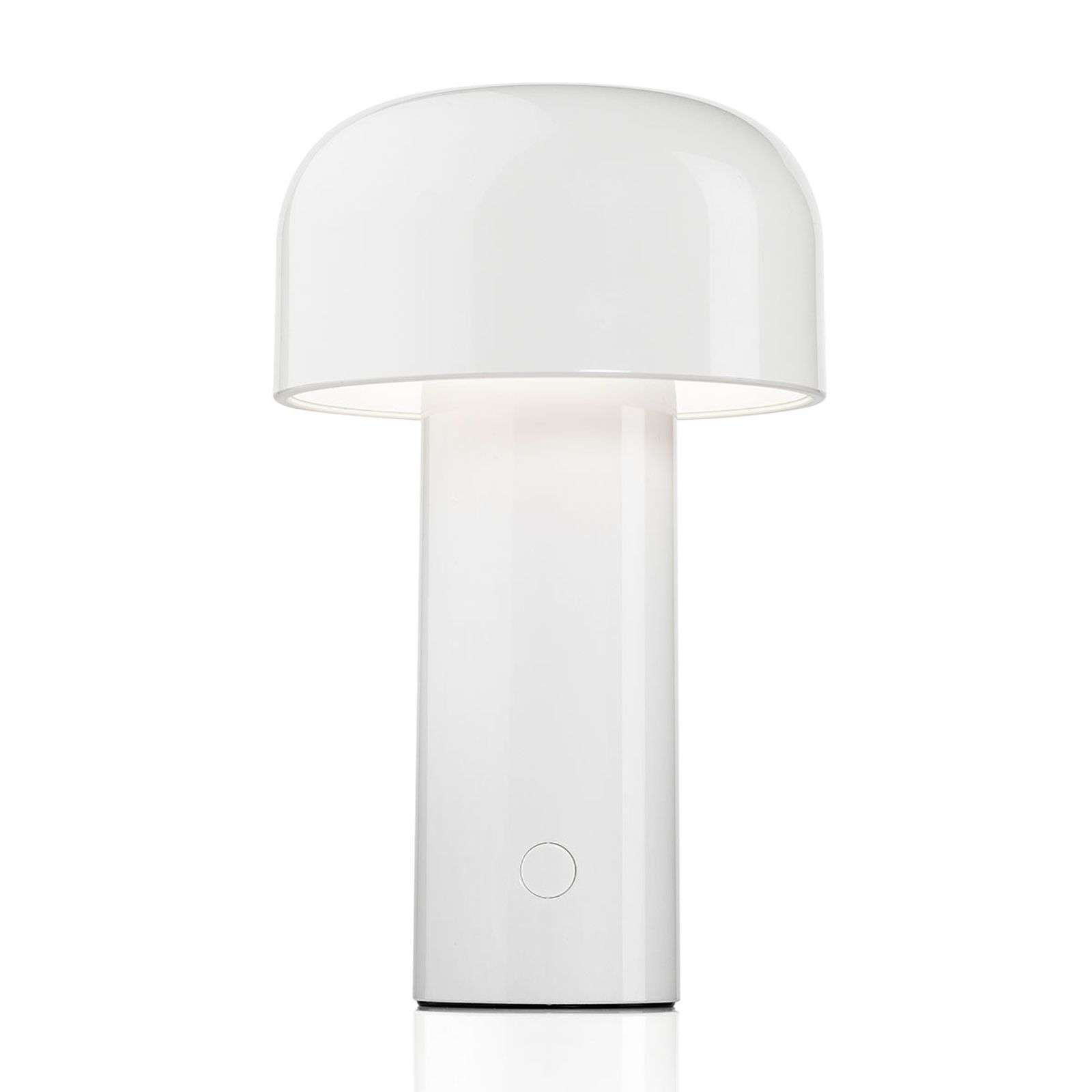 FLOS Bellhop oplaadbare LED tafellamp wit