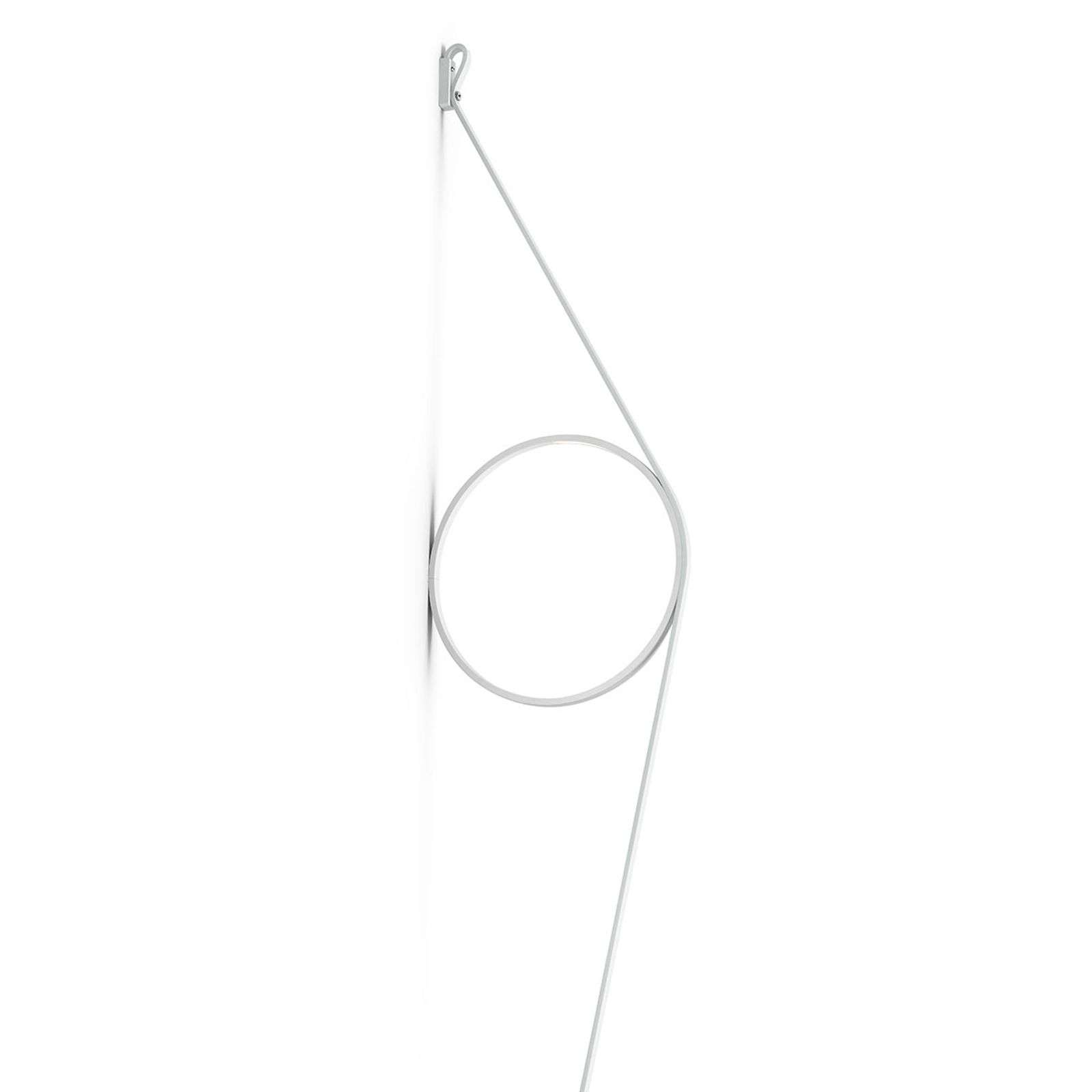 FLOS Wirering wit LED wandlamp, Ring wit