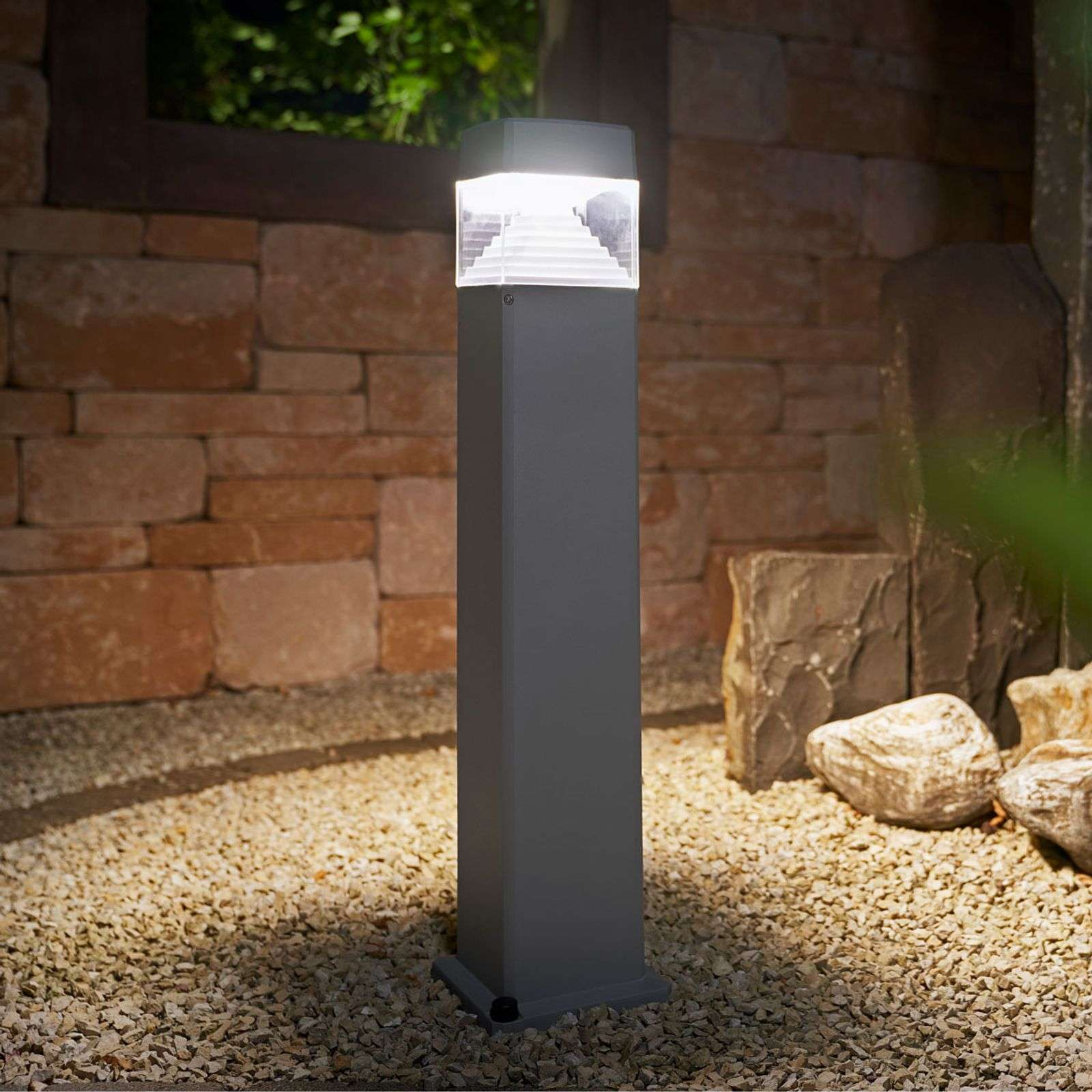 LED tuinpadverlichting Ester 800, grijs