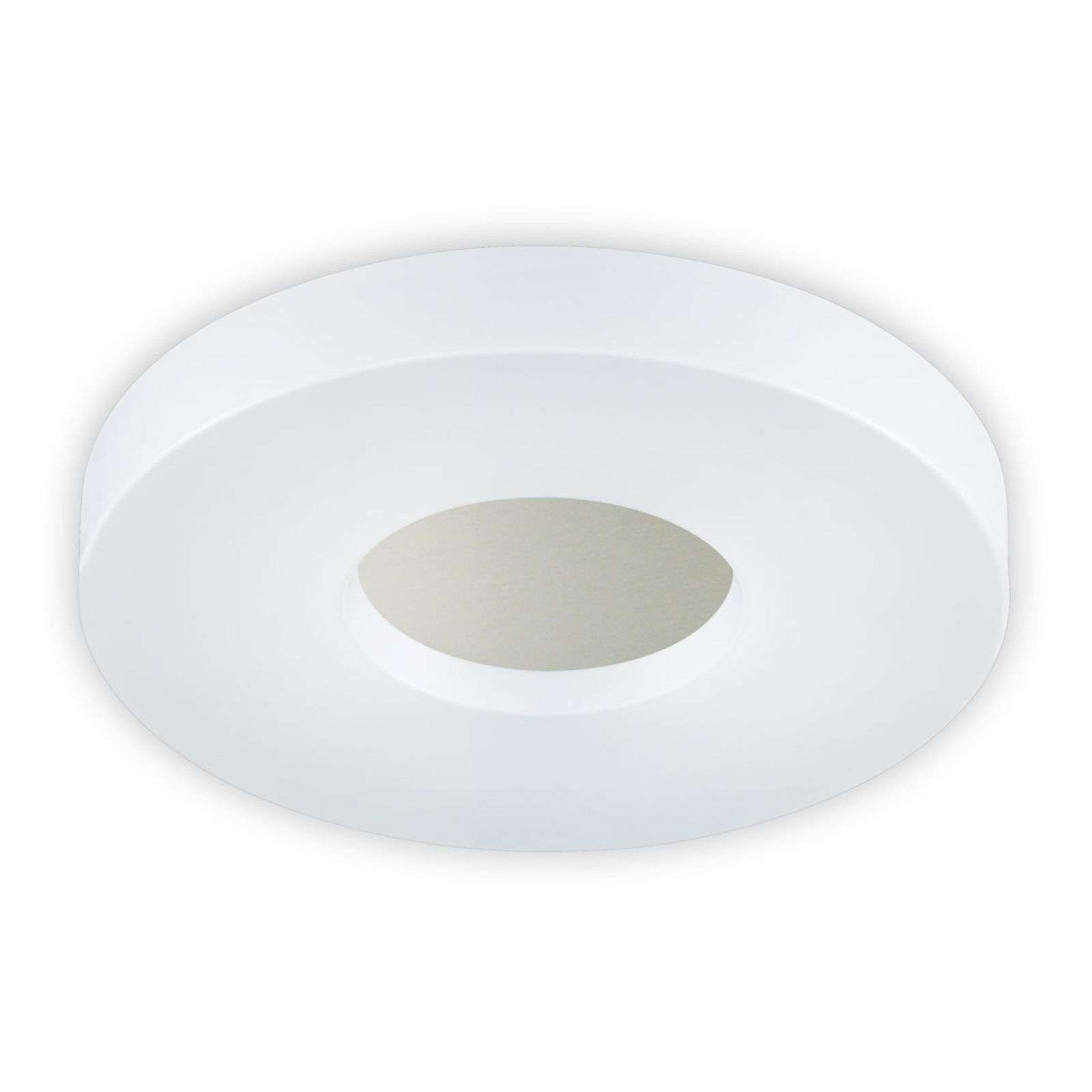 LED plafondlamp Cookie in een ronde vorm