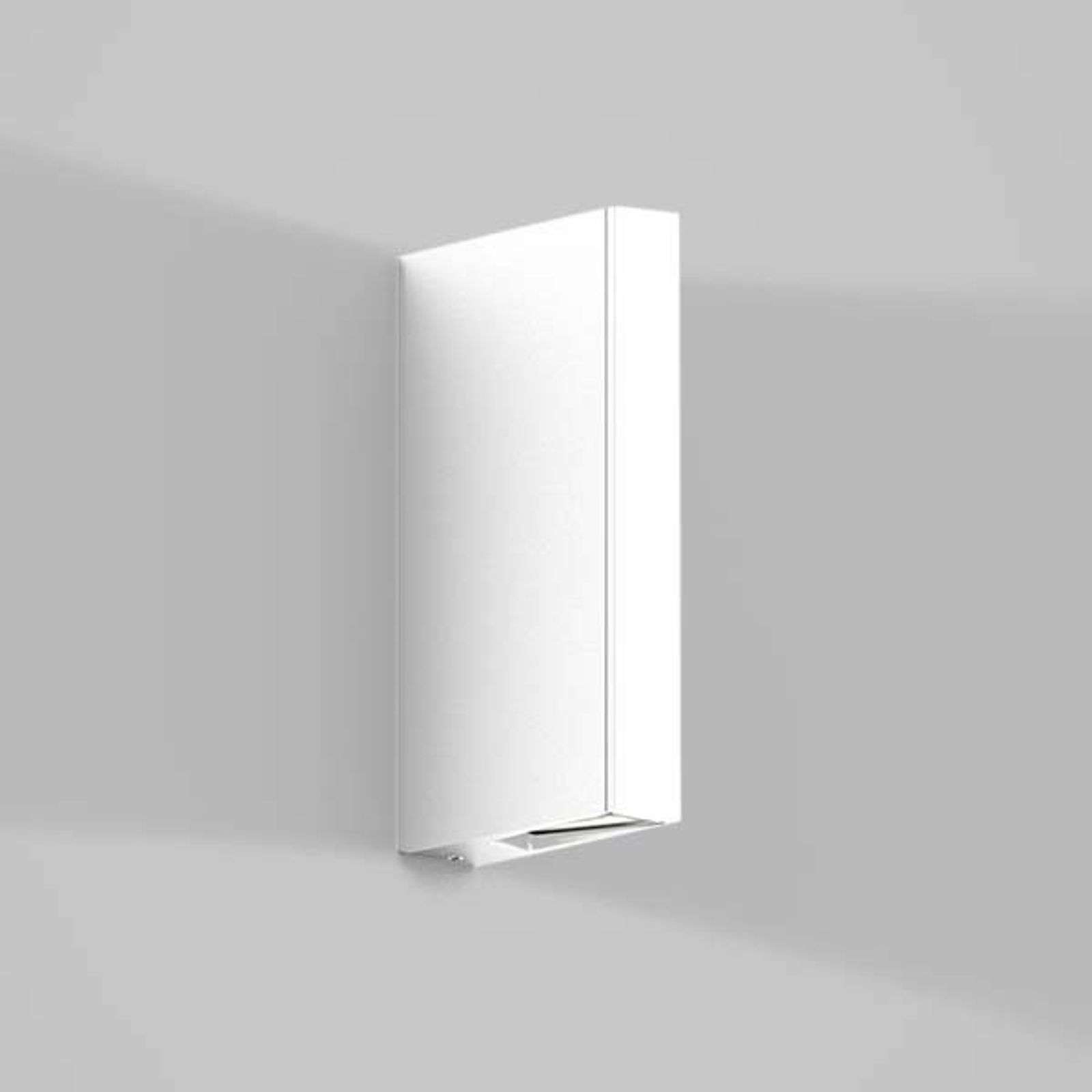 IP44.de Gap Y - LED buitenwandlamp, wit