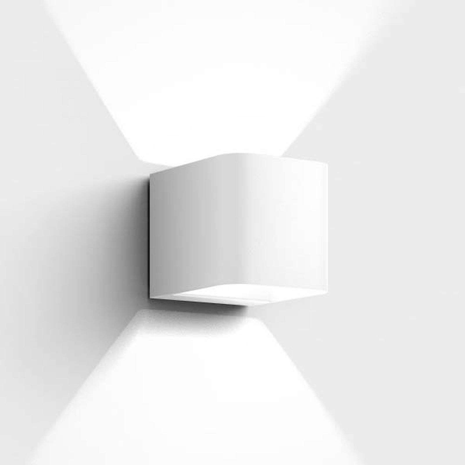 IP44.de Intro - LED buitenwandlamp, wit