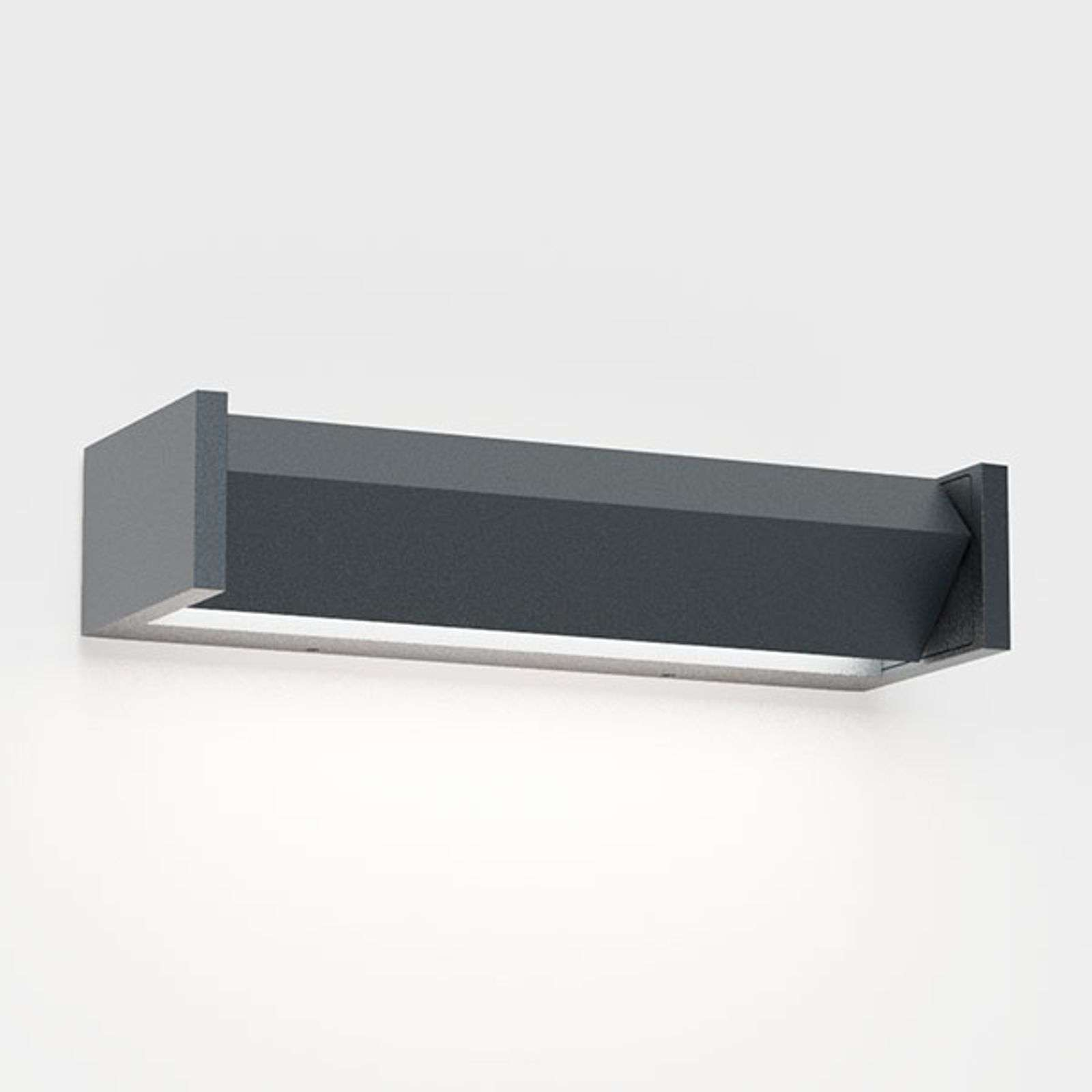 IP44.de Slat One LED buitenwandlamp, antraciet