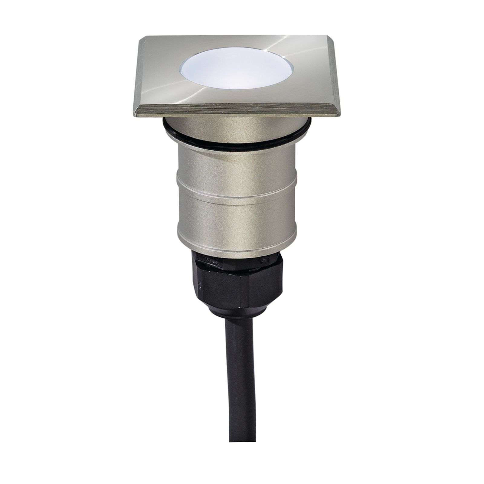 Led-inbouwspot POWER TRAIL-LITE Square, daglicht