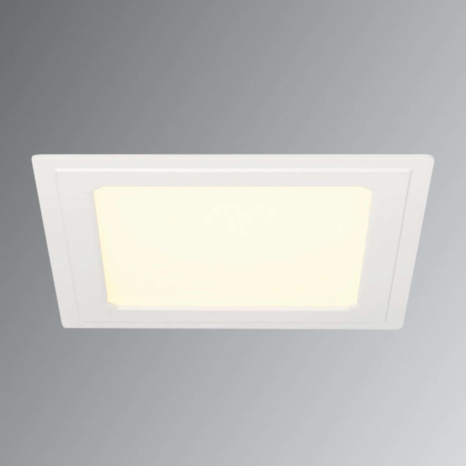 LED plafondlamp Senser 10 in wit