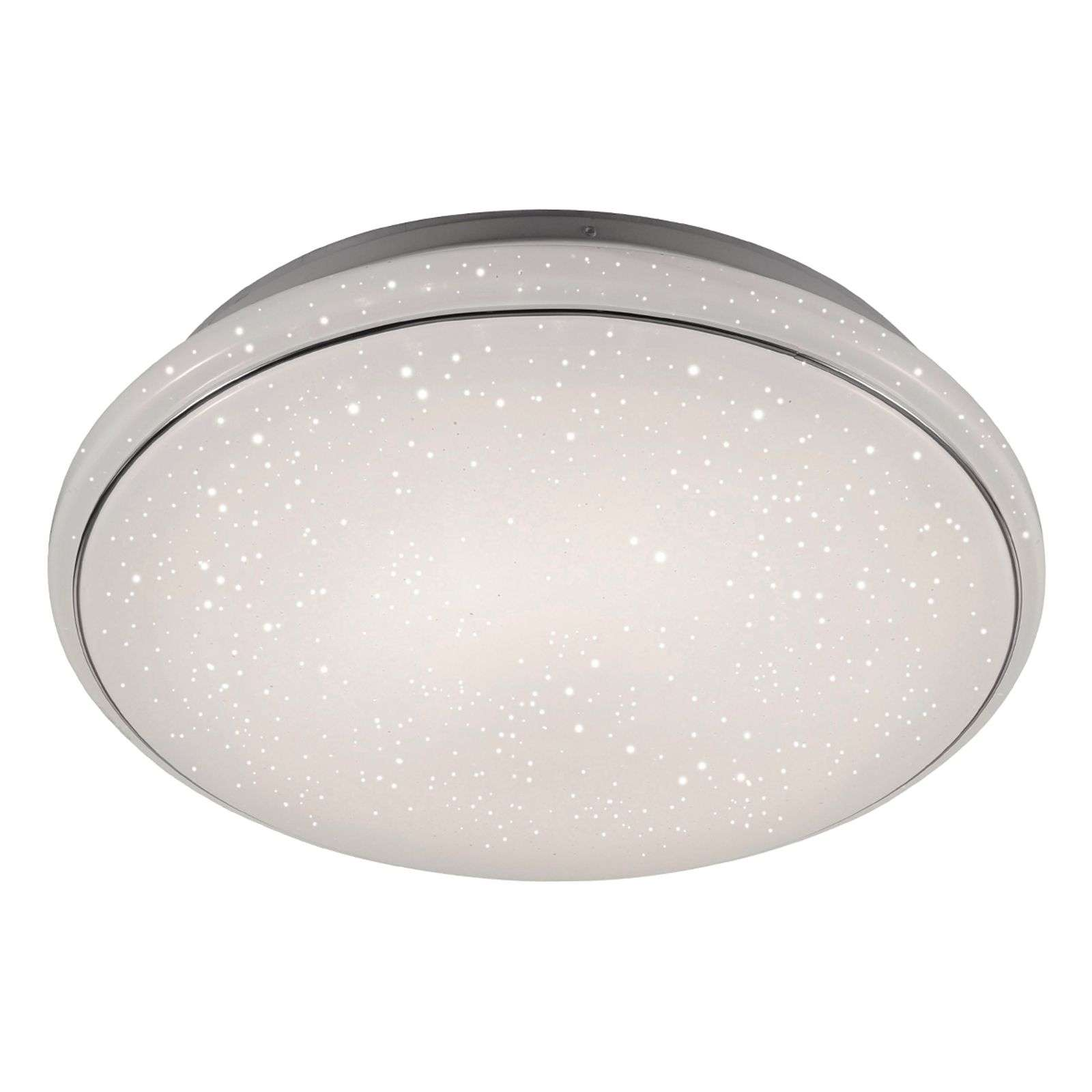 Sterrenhemel look - LED-plafondlamp Jupiter