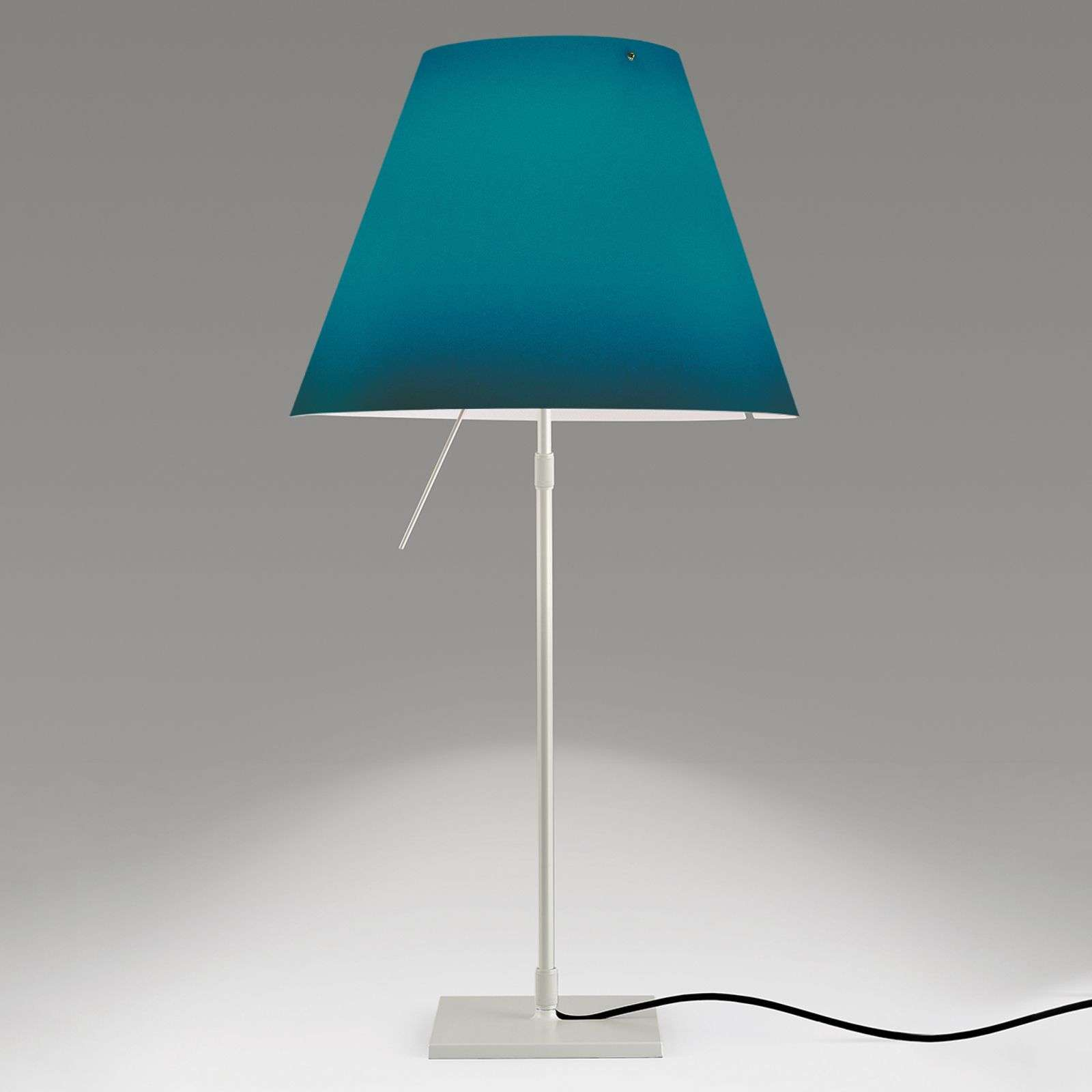 Decoratieve LED tafellamp Constanza in blauw