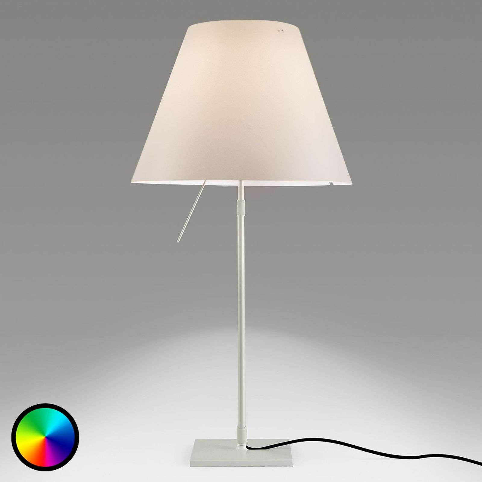Reguleerbare Philips Hue LED tafellamp Constanza
