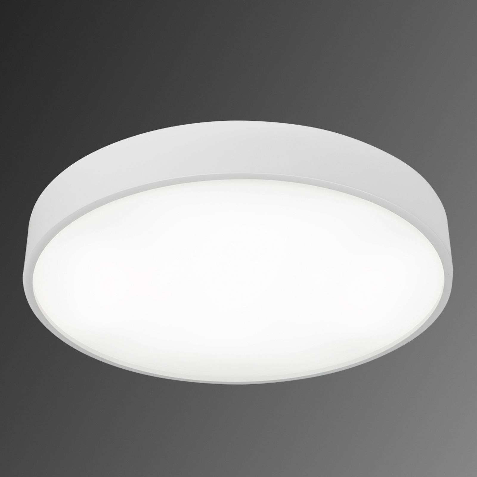 Ronde Modul S645 Led-plafondlamp in wit