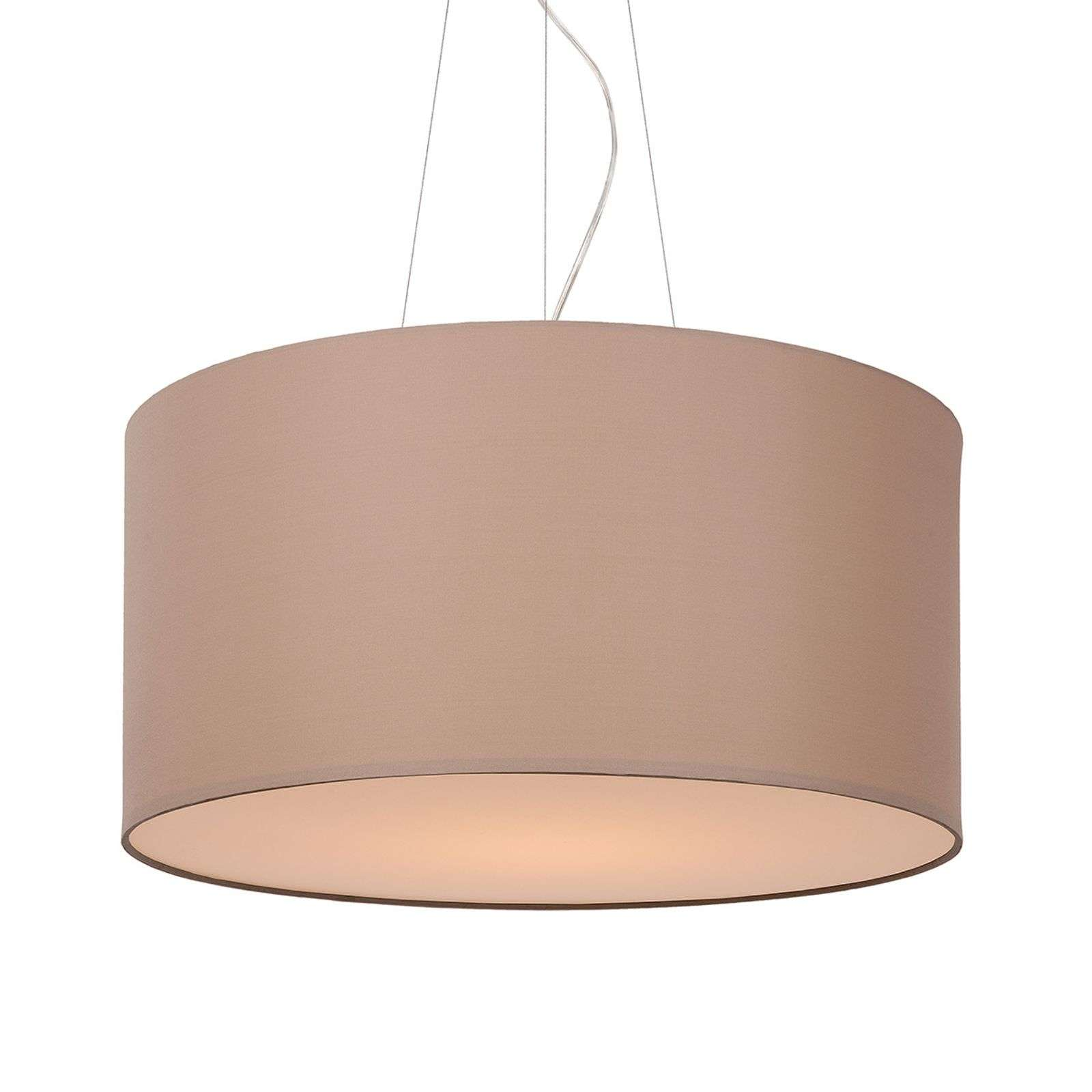 Universele hanglamp Coral, taupe, 40 cm