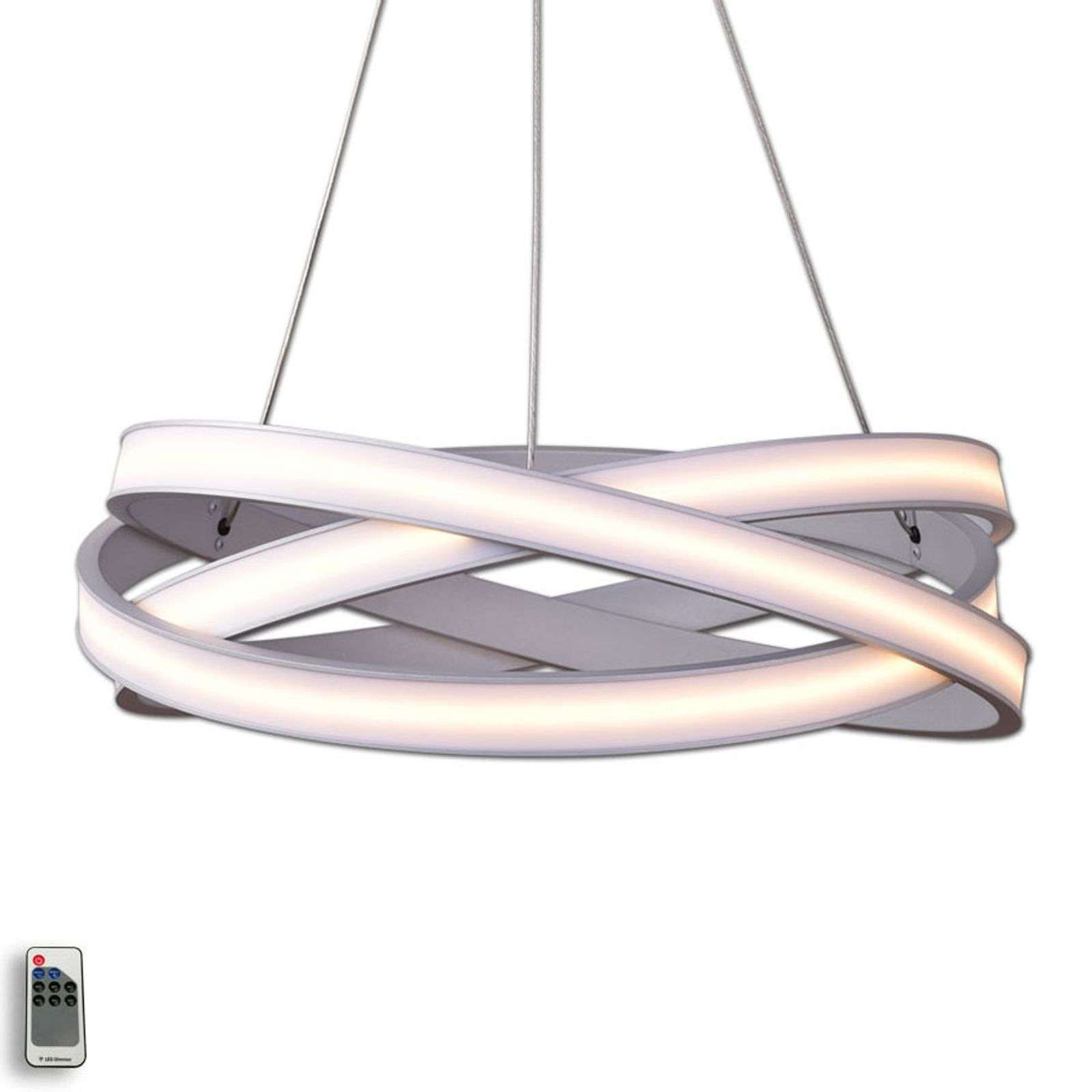 Tivano - decoratieve LED hanglamp in alu